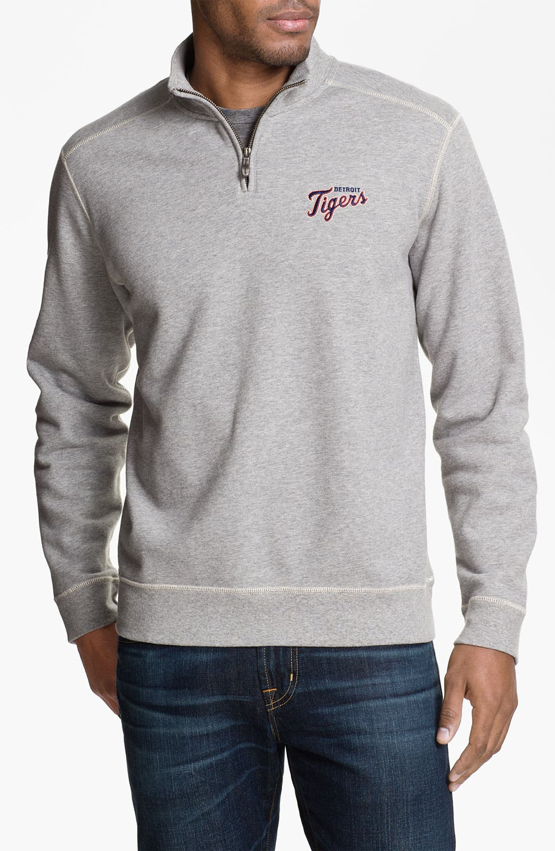 Main Image - Tommy Bahama 'Swing Away' Half Zip Fleece Pullover
