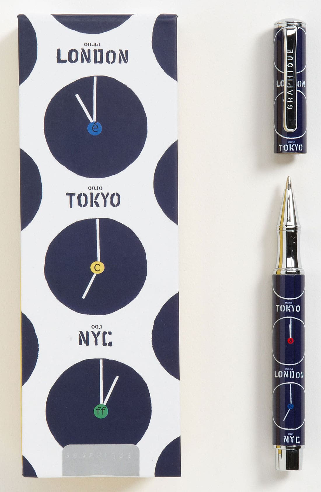 Alternate Image 1 Selected - Graphique de France 'Koco - Clocks' Rollerball Pen