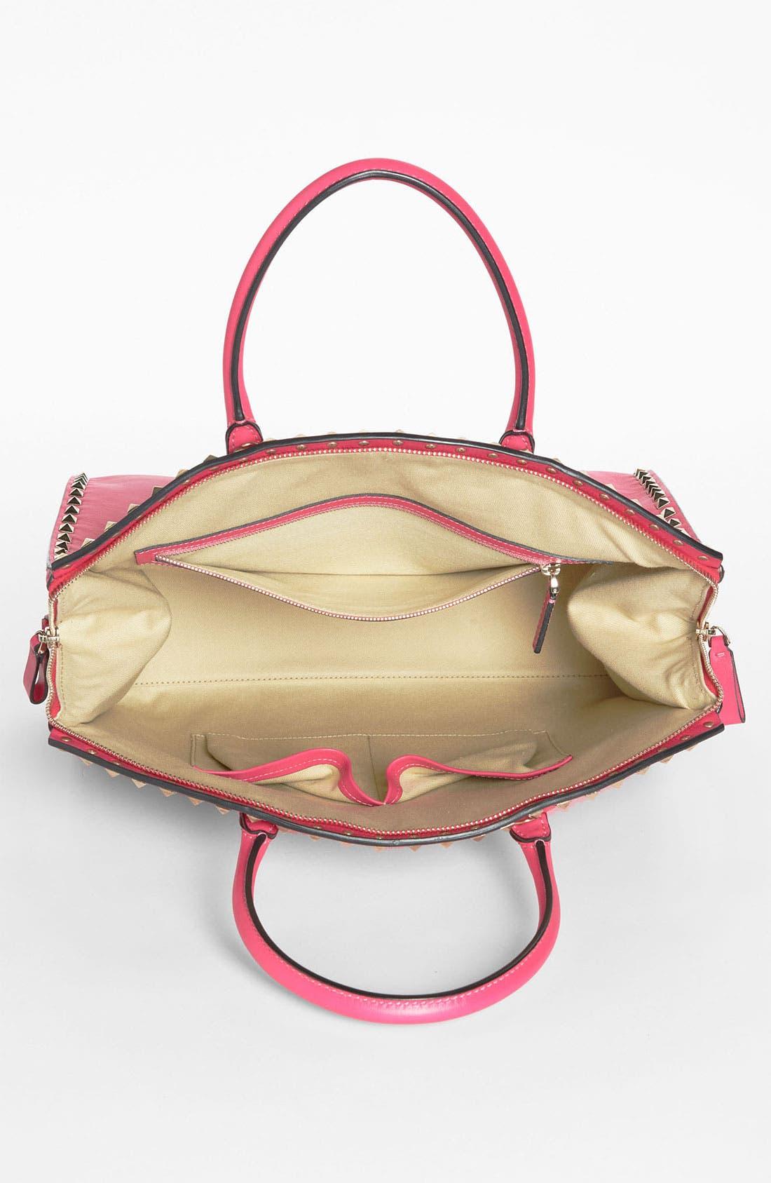 Alternate Image 3  - Valentino 'Rockstud' Leather Dome Satchel