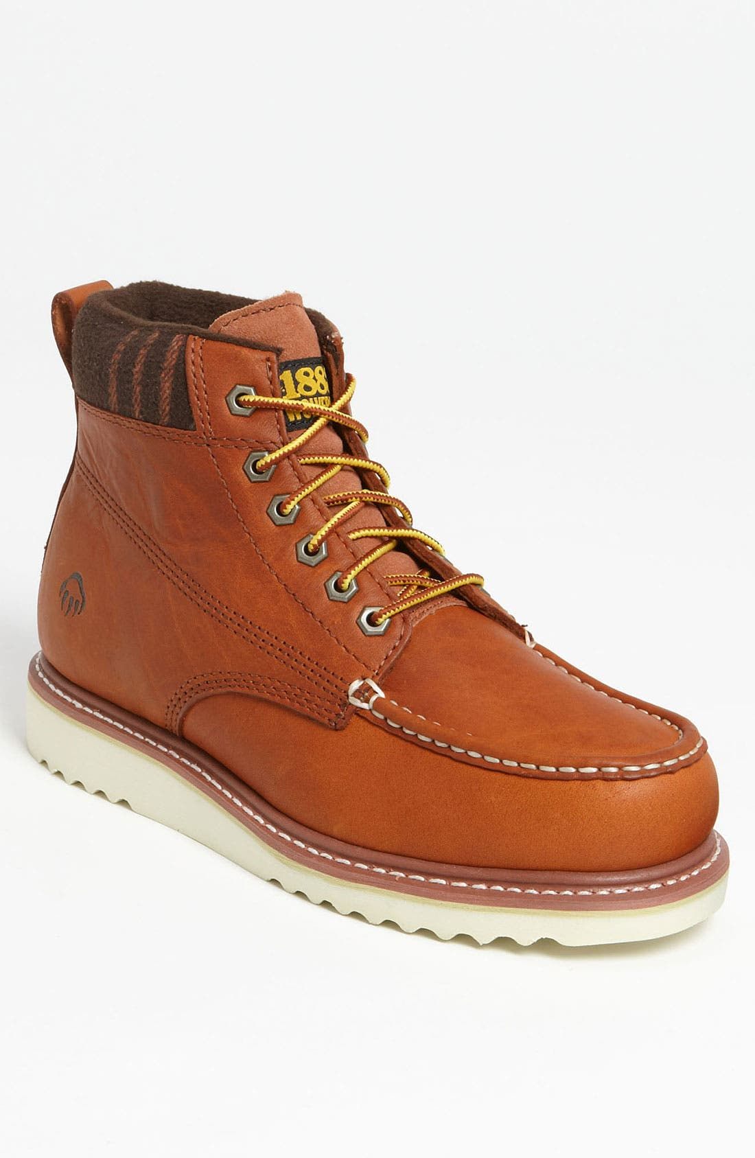 Alternate Image 1 Selected - Wolverine '1883 - Shindell' Moc Toe Boot