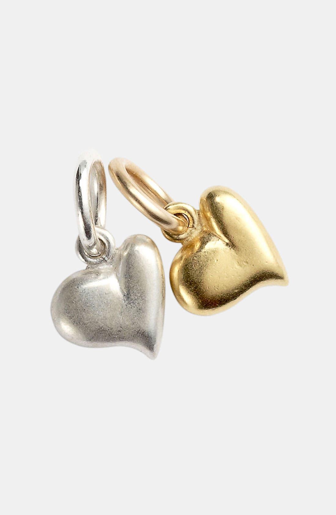Main Image - Dogeared 'Create - Full Heart' Charm