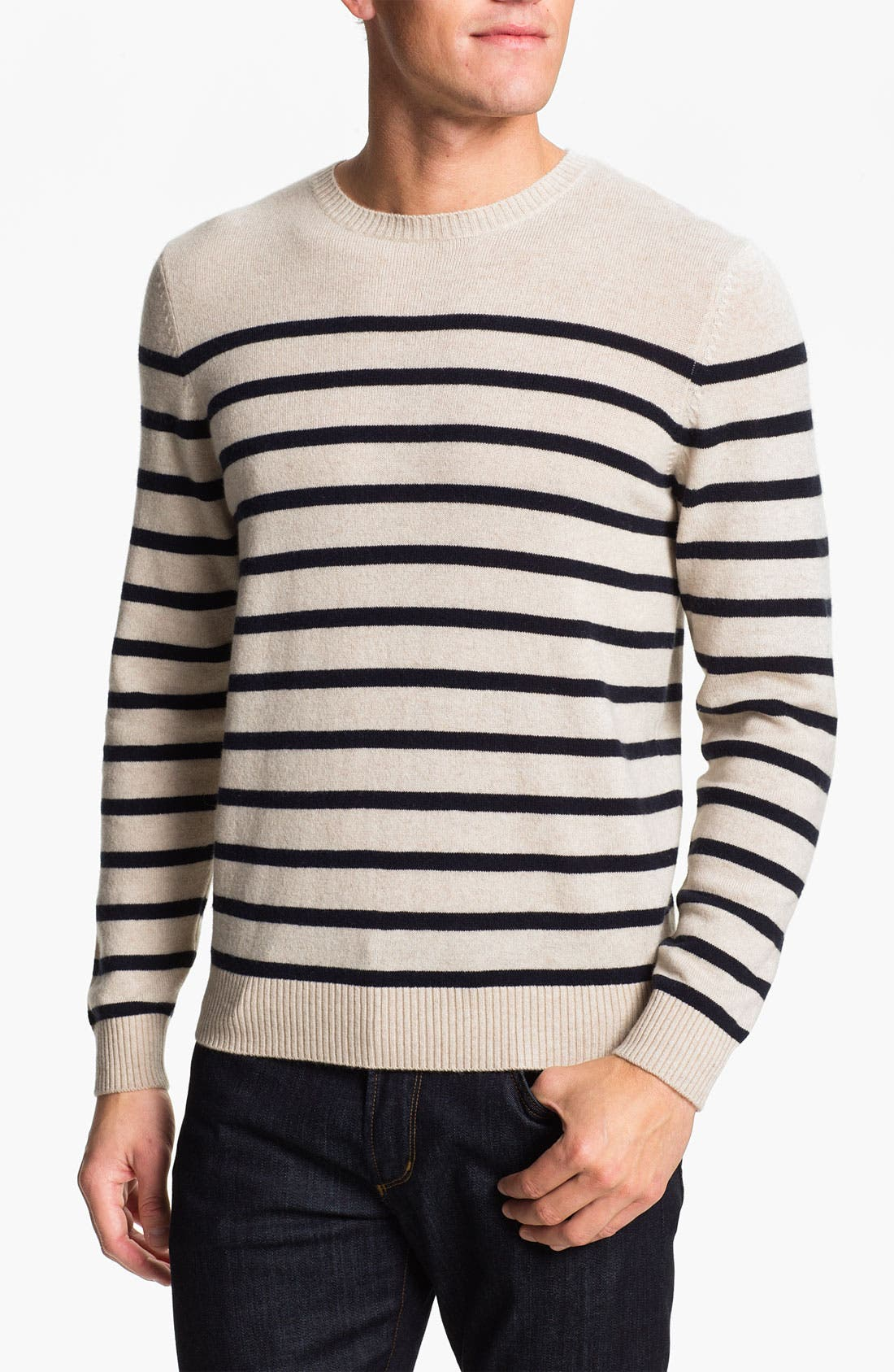 Alternate Image 1 Selected - Cullen89 Cashmere Crewneck Sweater