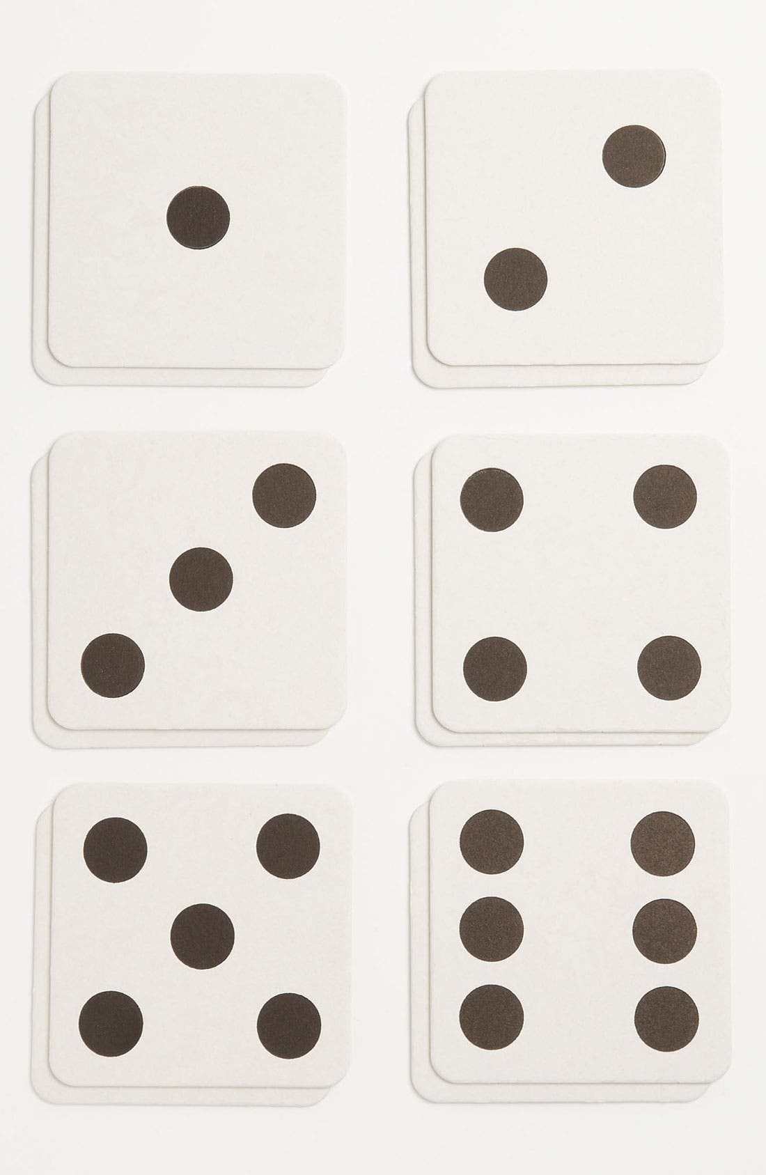 Alternate Image 1 Selected - 'Dice' Coasters (Set of 10)