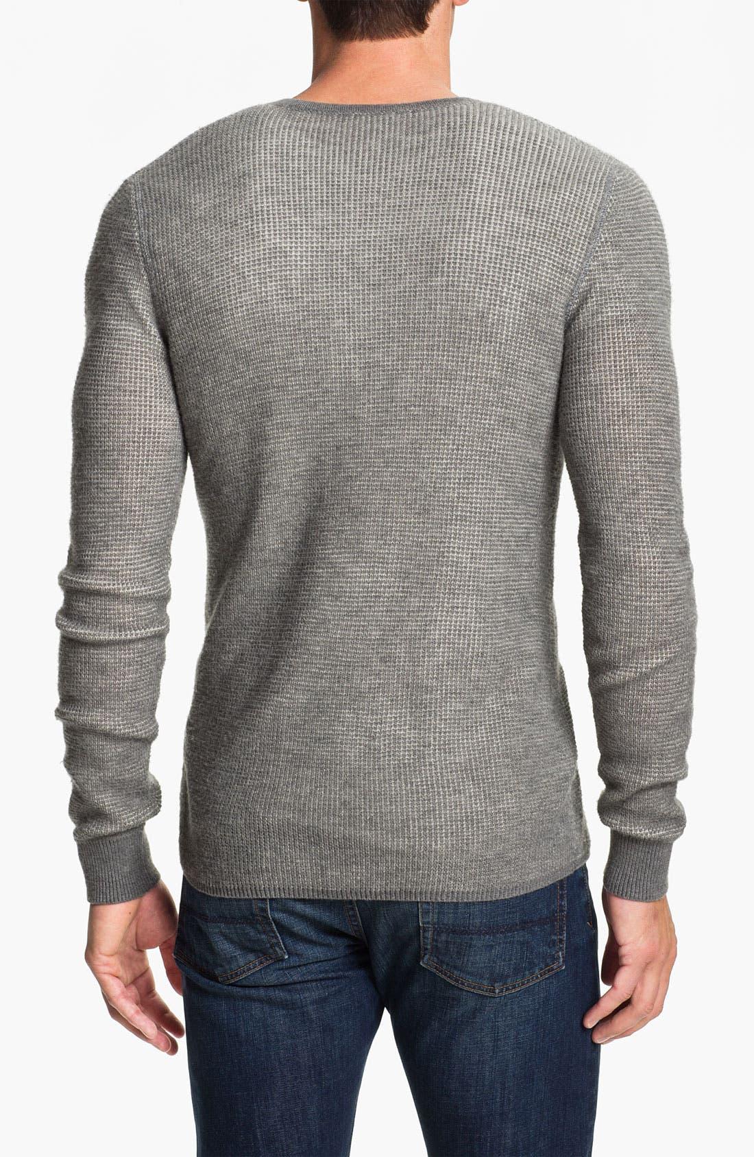 Alternate Image 2  - Vince Long Sleeve Wool Thermal Henley
