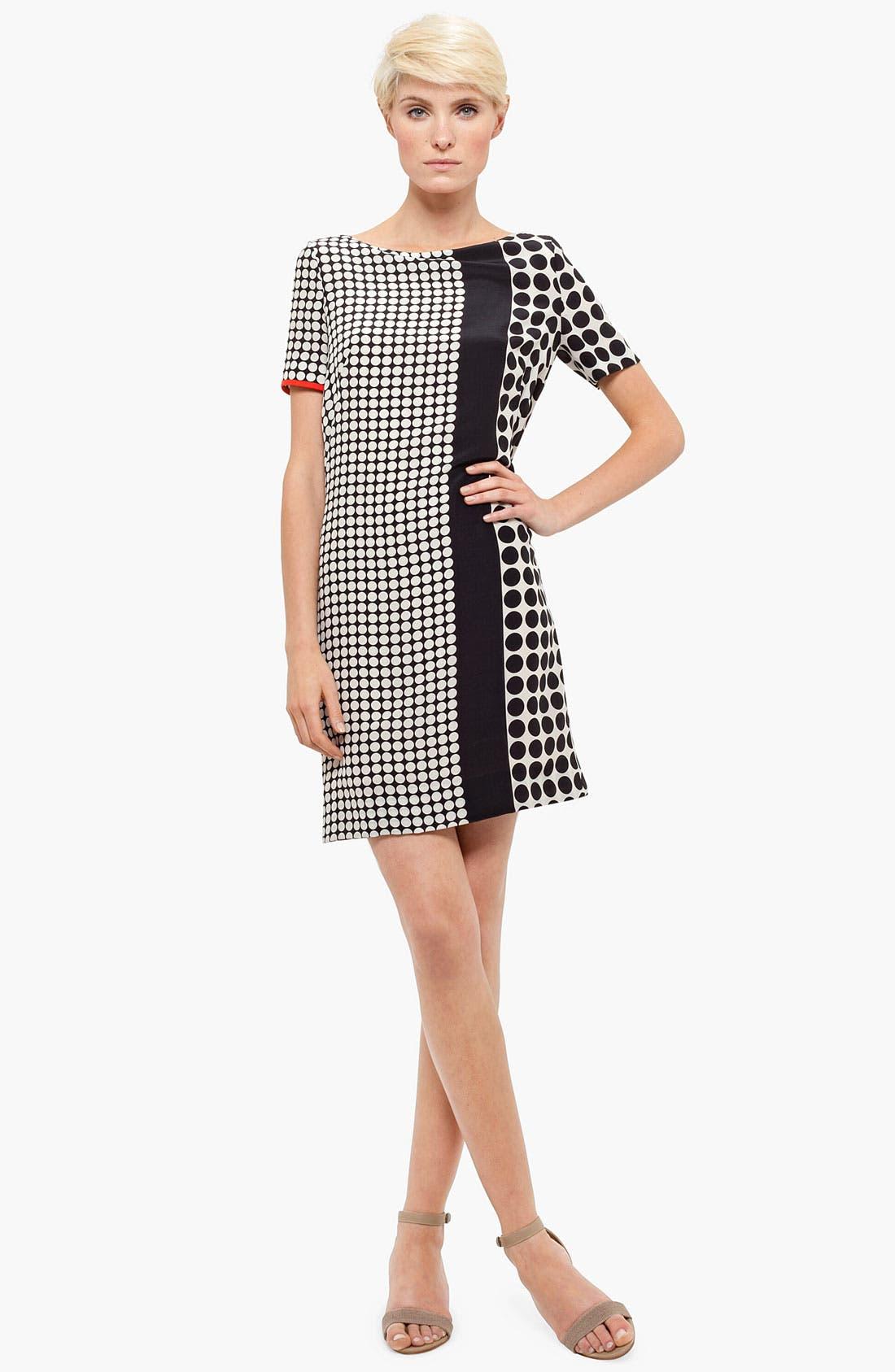 Main Image - Akris punto Dot Print Silk Dress