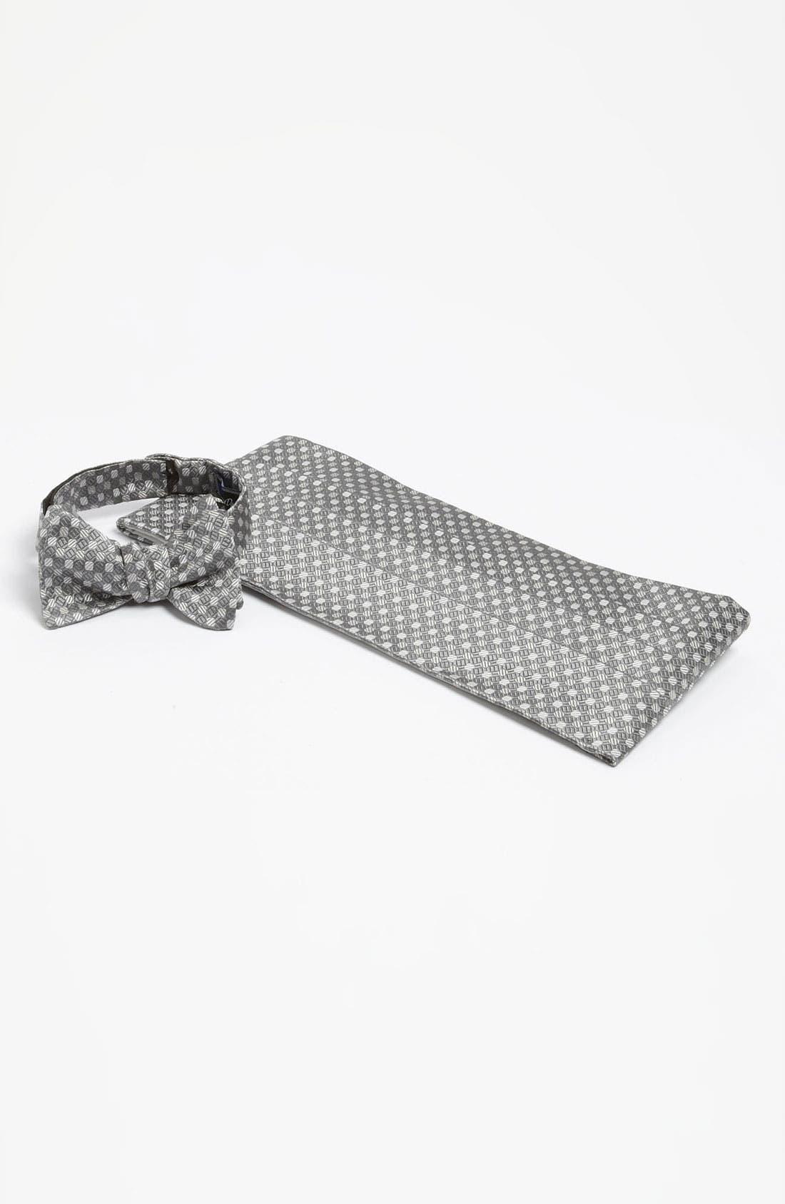 Main Image - David Donahue Cummerbund & Bow Tie