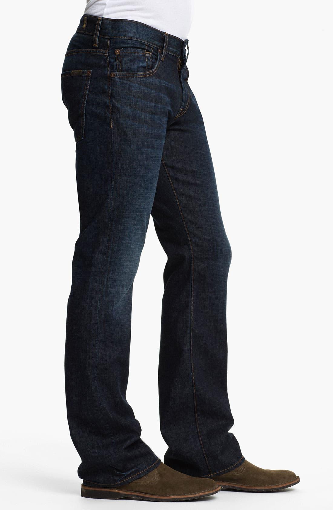 Alternate Image 3  - 7 For All Mankind® 'Brett' Bootcut Jeans (Hollenbeck)