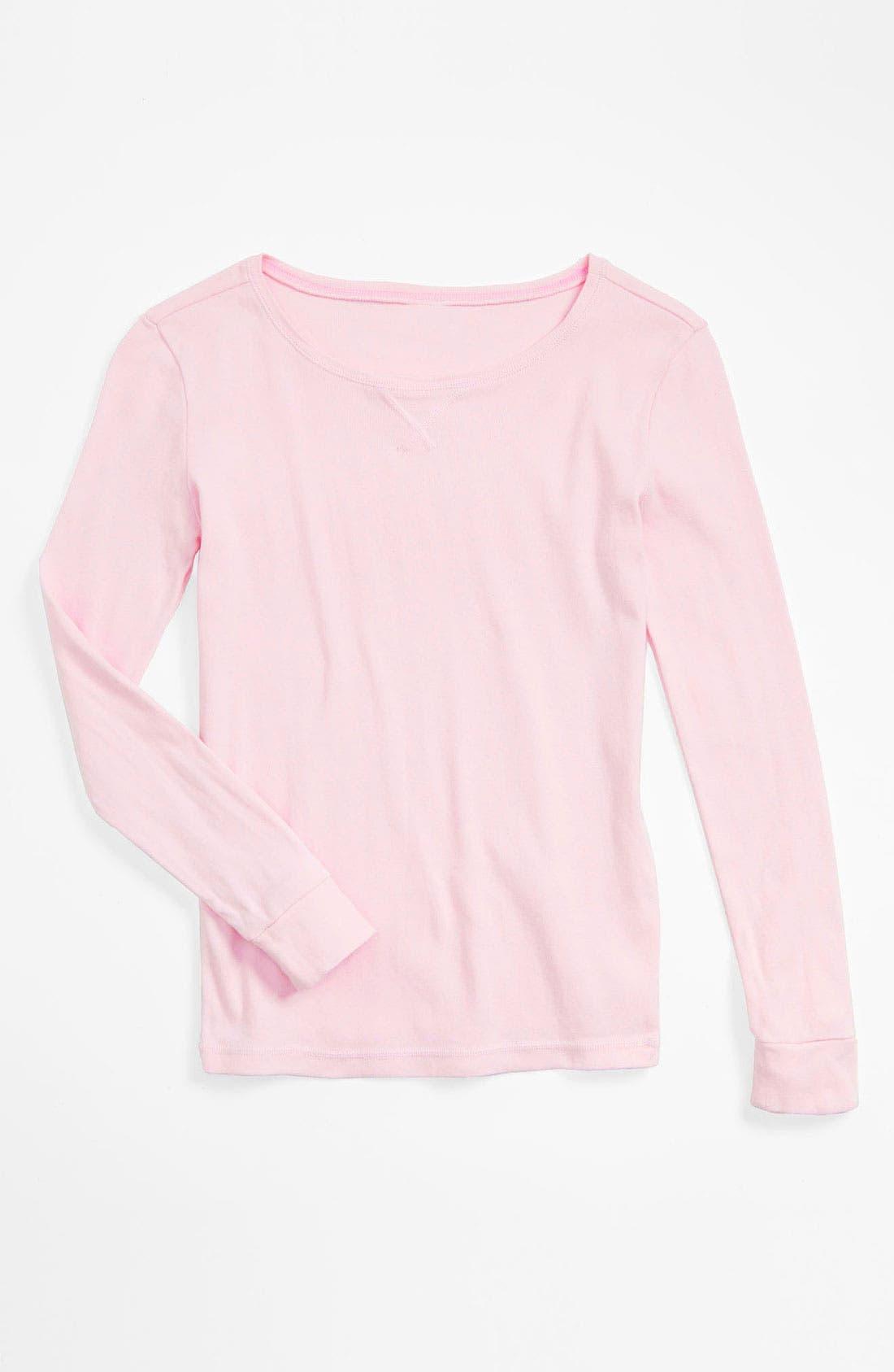 Alternate Image 1 Selected - Tucker + Tate Pajama Top (Little Girls & Big Girls)