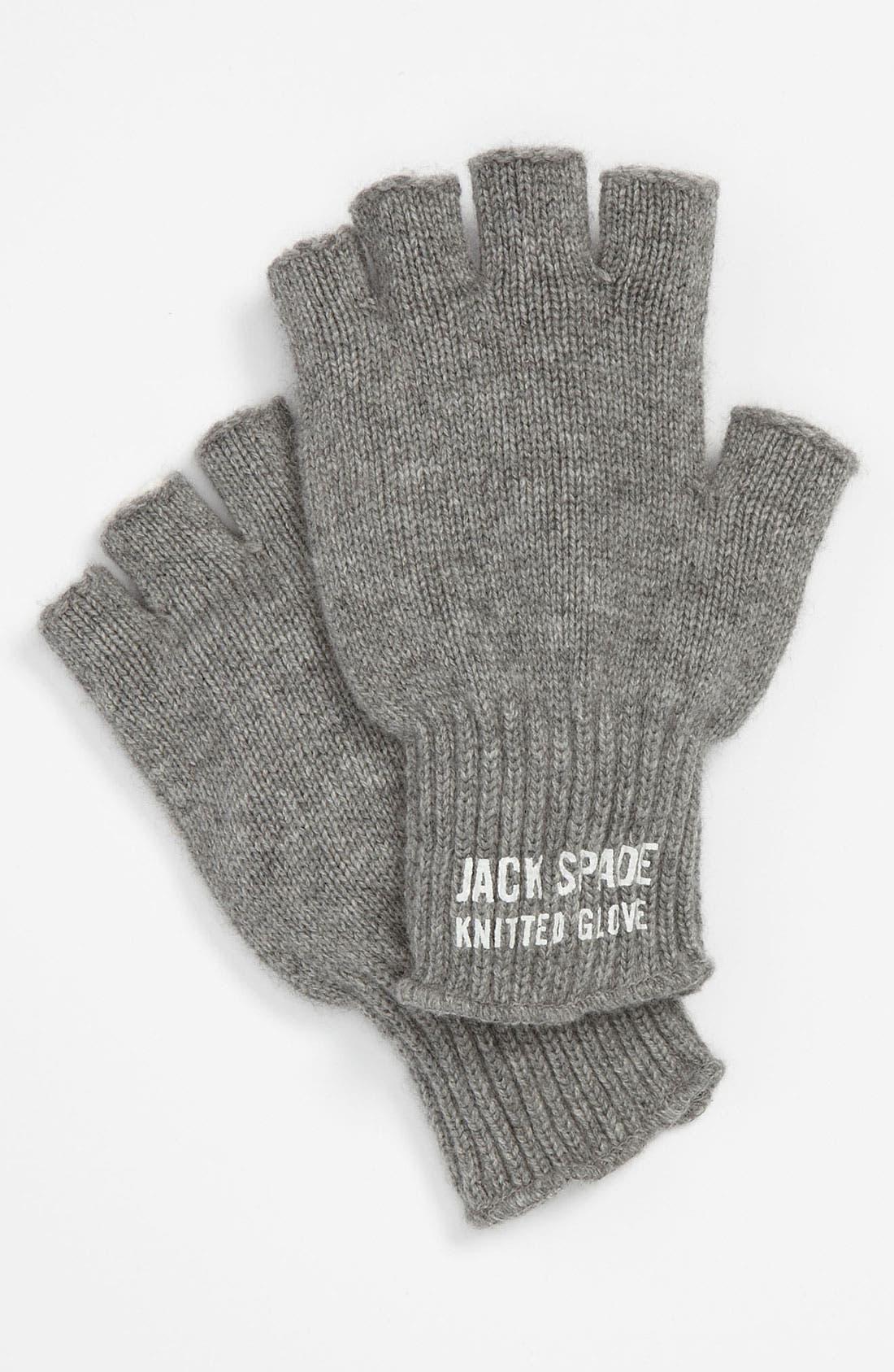 Alternate Image 1 Selected - Jack Spade 'Preston' Fingerless Cashmere Gloves