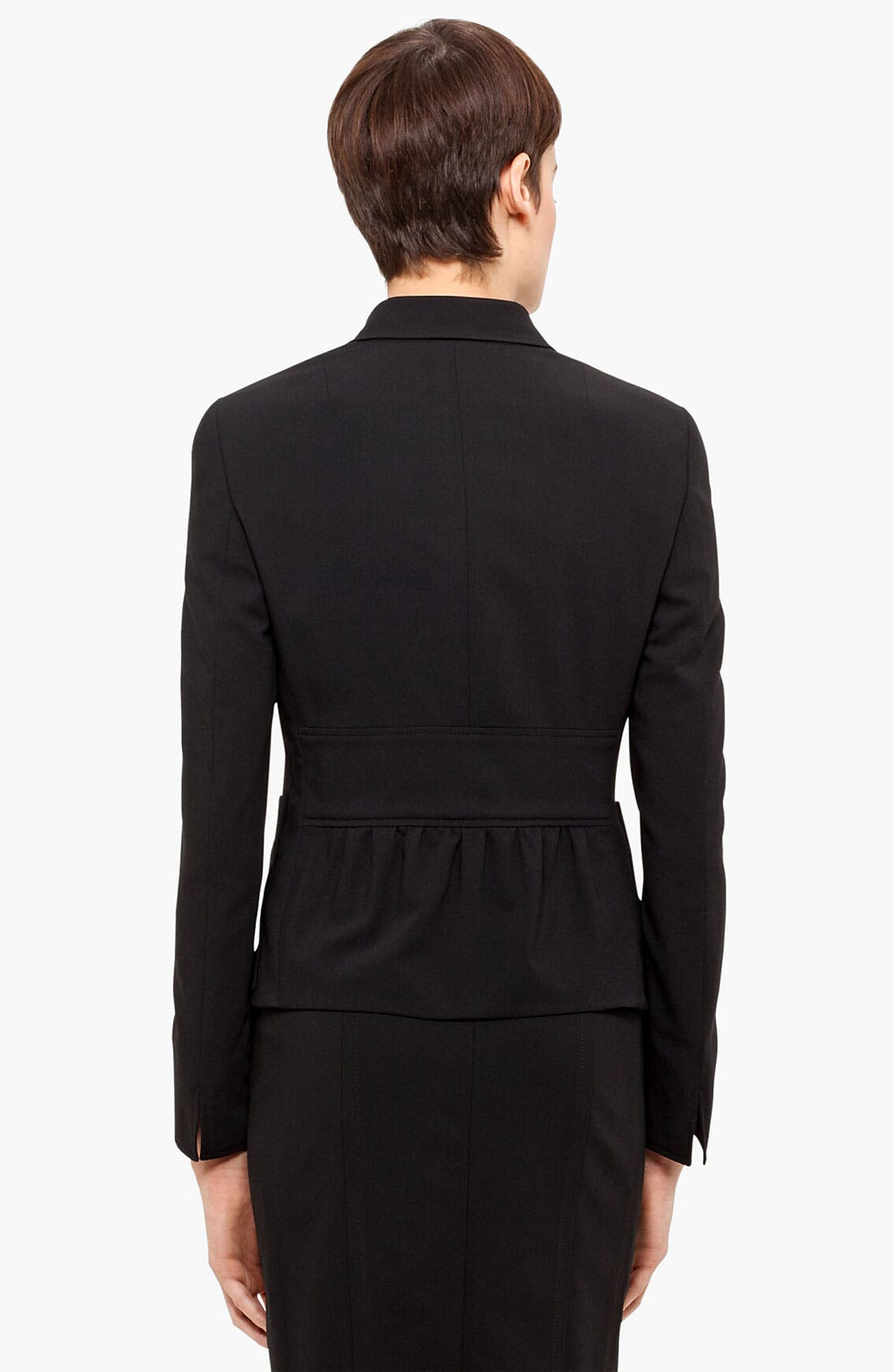 Alternate Image 3  - Akris punto Two Button Wool Jacket