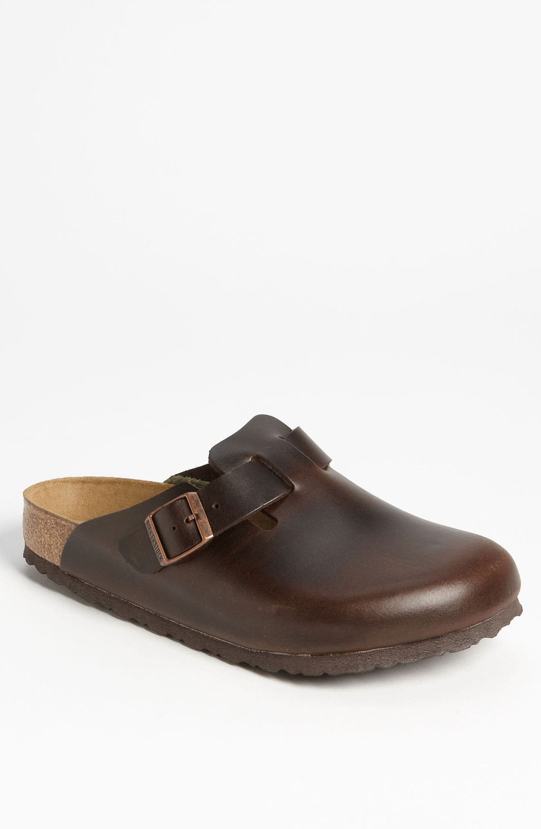 Alternate Image 1 Selected - Birkenstock 'Boston Soft' Clog   (Men)