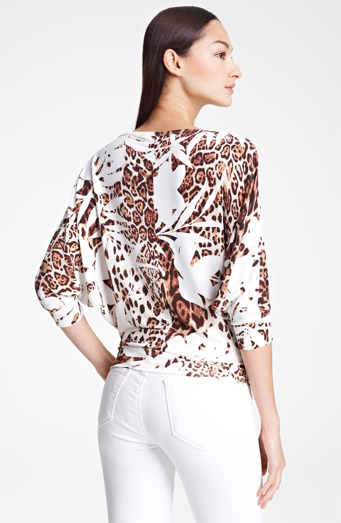 Alternate Image 2  - Blumarine Dolman Sleeve Jersey Top