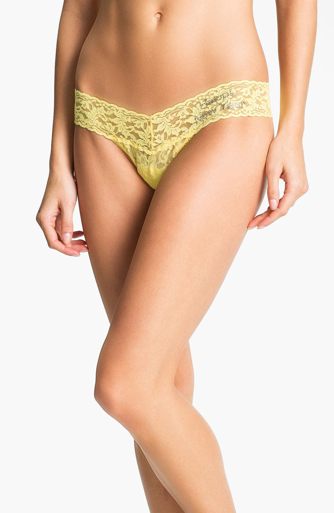 Alternate Image 1 Selected - Hanky Panky 'Happy New Year' Embellished Low Rise Thong