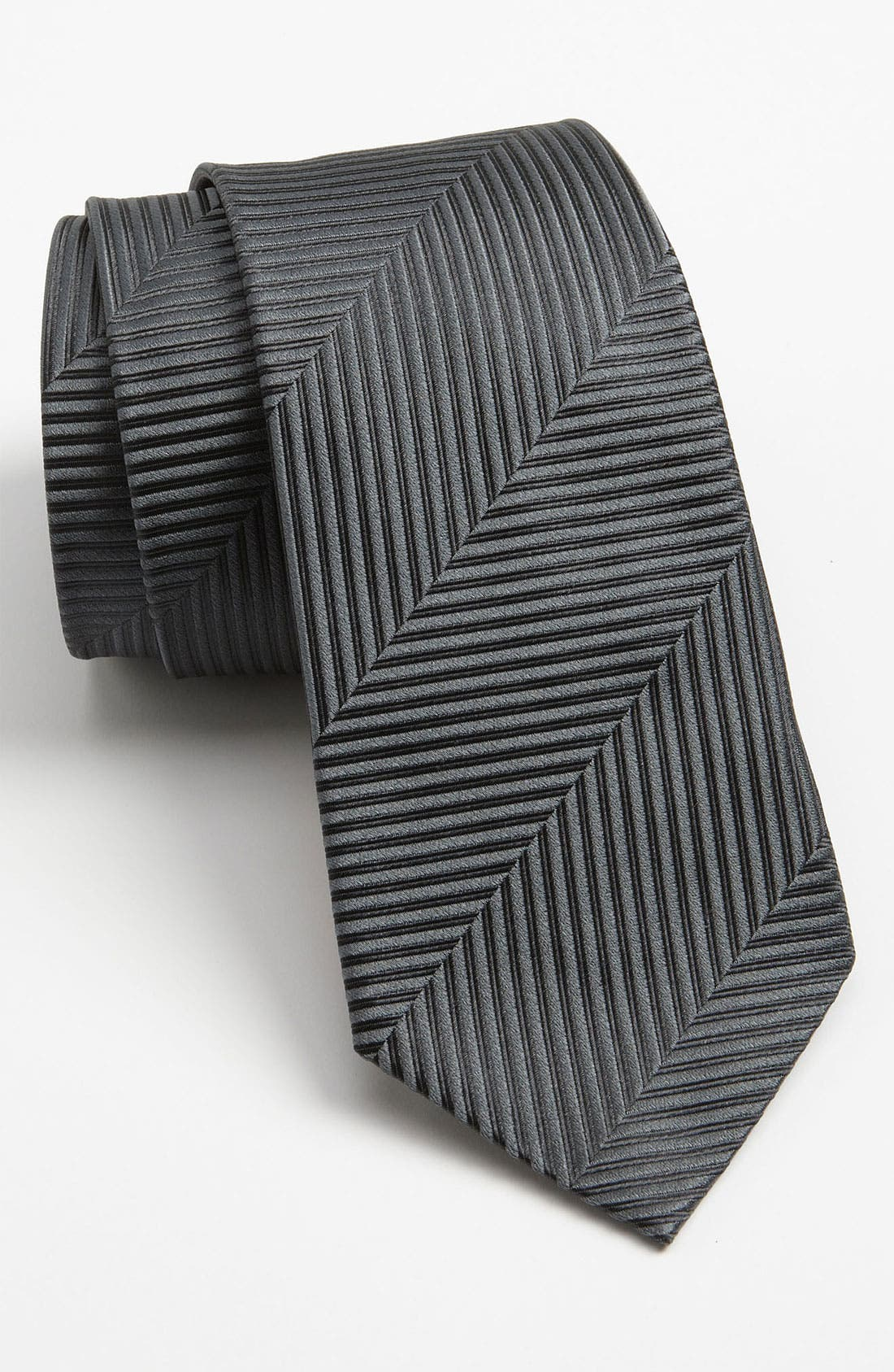 Alternate Image 1 Selected - Z Zegna Woven Silk Tie
