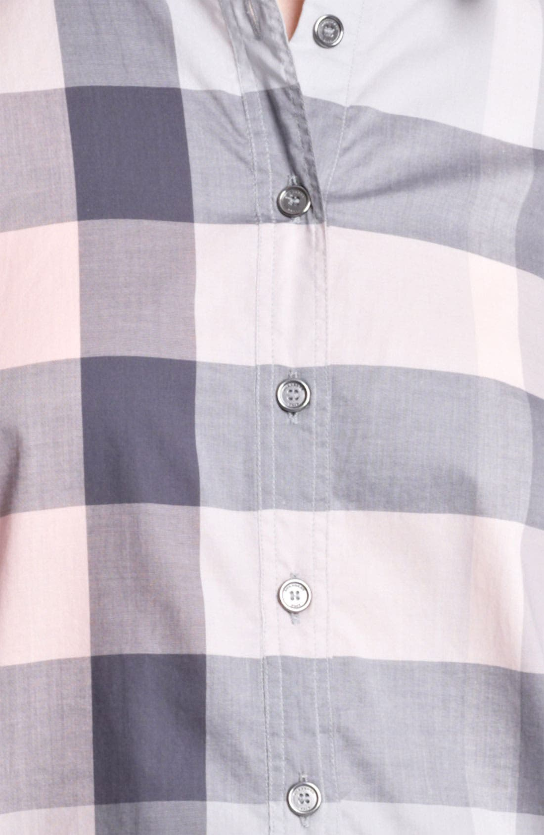 Alternate Image 2  - Burberry Brit Woven Check Tunic (Online Exclusive)