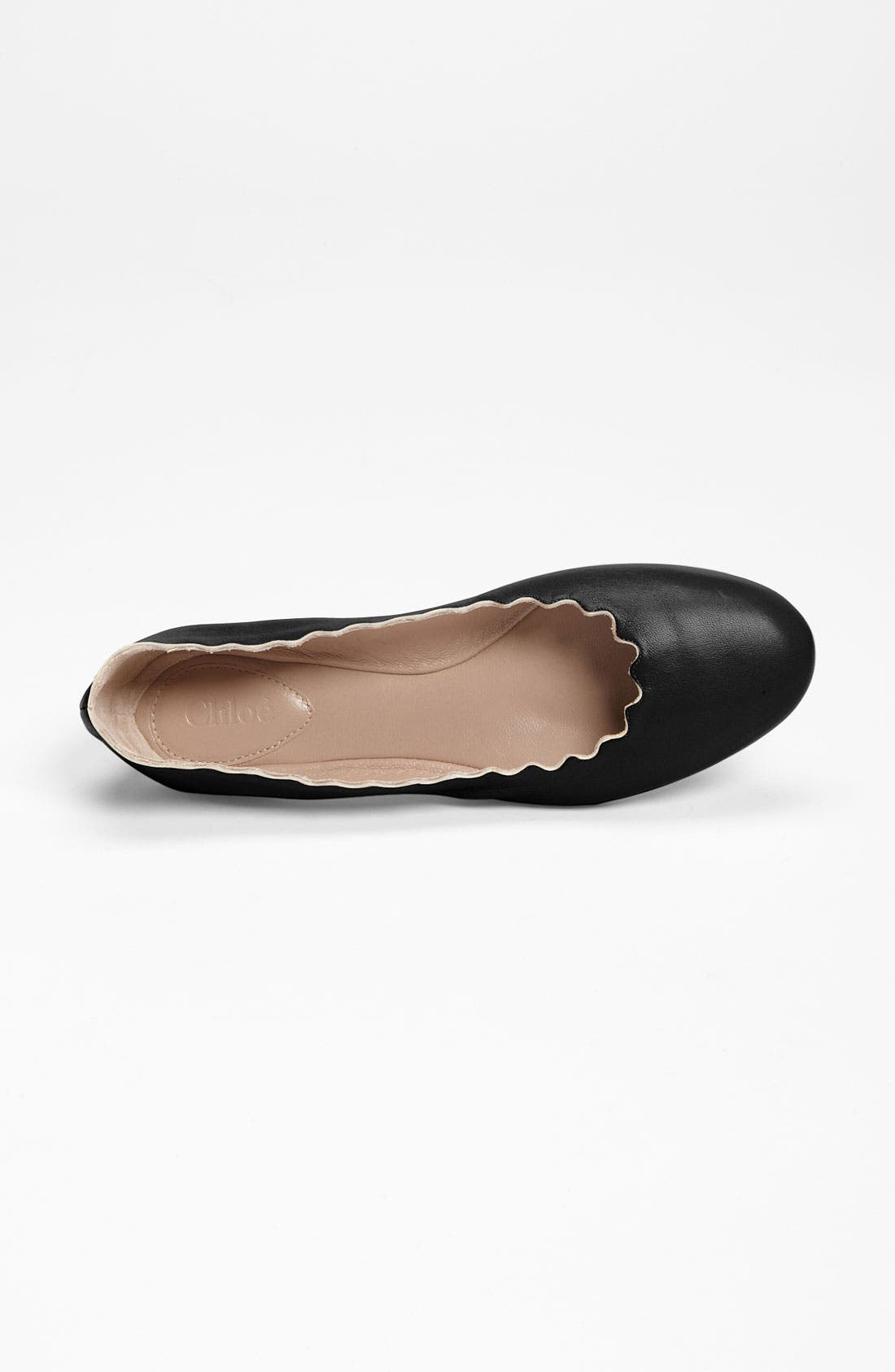 Alternate Image 3  - Chloé Scalloped Ballet Flat
