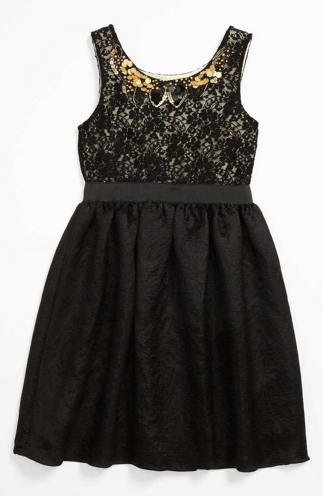 Alternate Image 1 Selected - BLUSH by Us Angels Lace Dress (Big Girls)