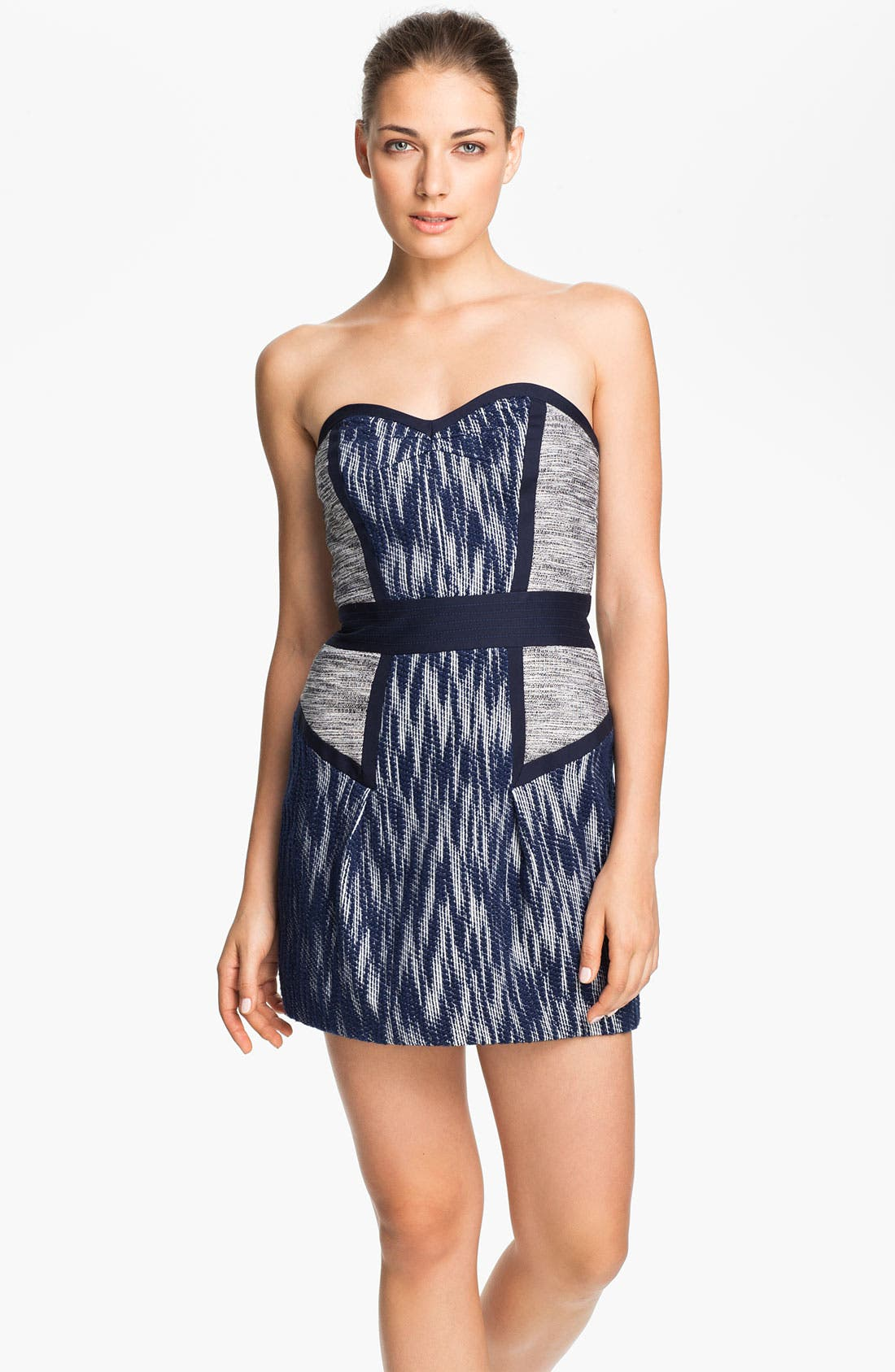 Alternate Image 1 Selected - Milly 'Dianna' Woven Sheath Dress