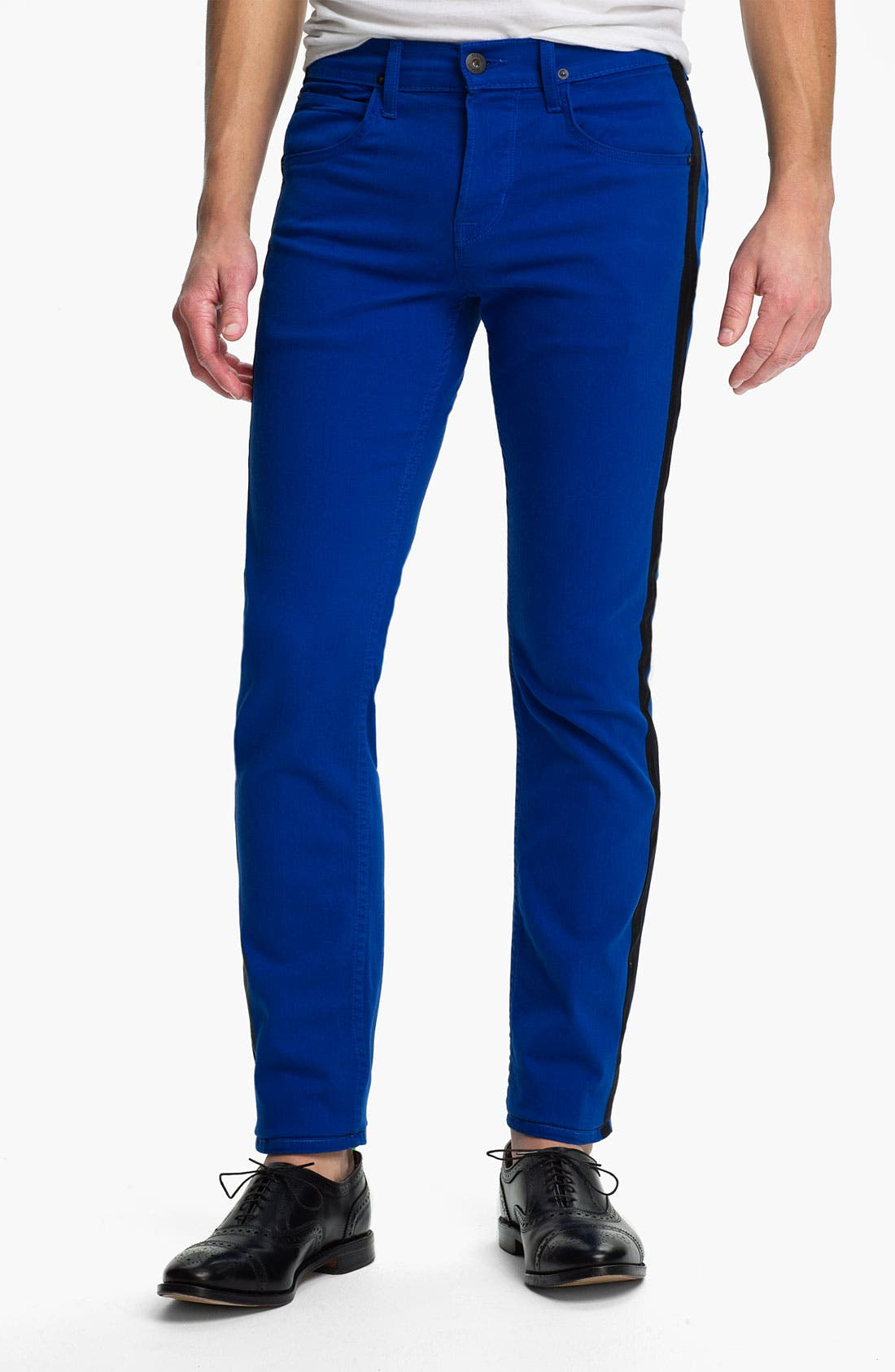 Alternate Image 2  - Hudson Jeans 'Lou' Slim Straight Leg Jeans (Blue My Mind)
