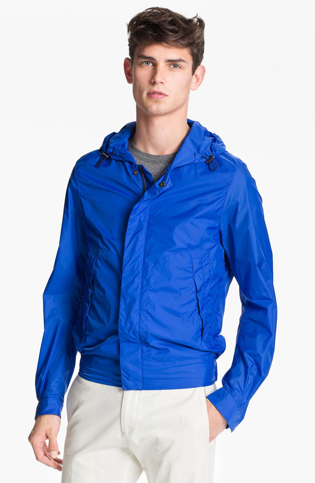 Alternate Image 1 Selected - Jil Sander Hooded Windbreaker