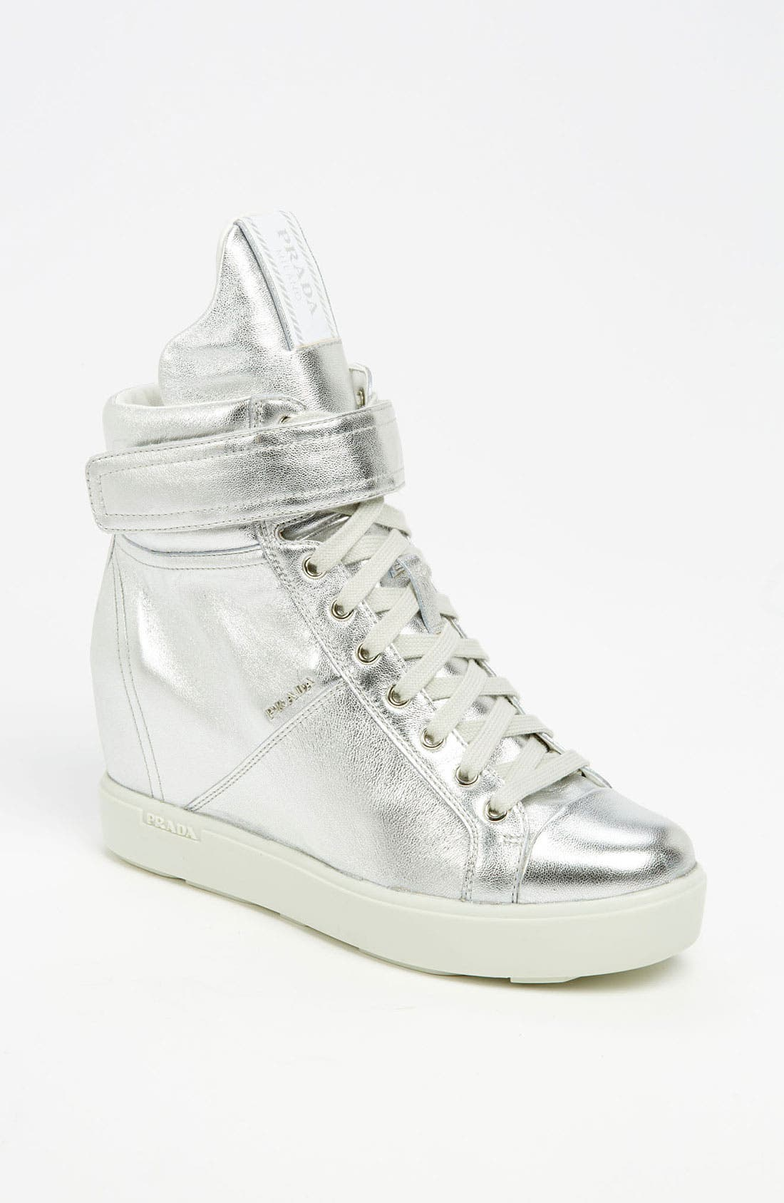 Alternate Image 1 Selected - Prada Wedge Sneaker