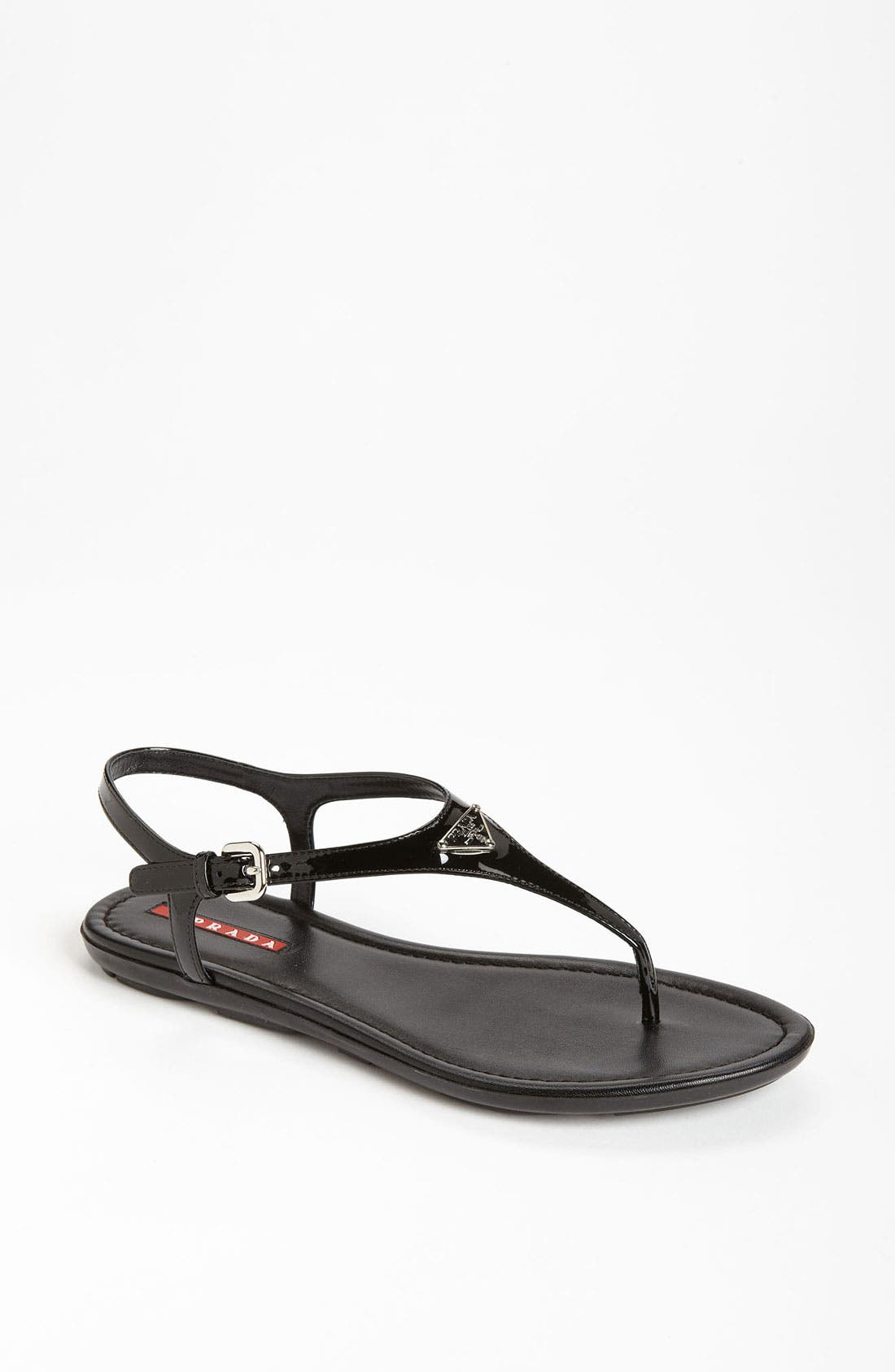 Alternate Image 1 Selected - Prada Logo Thong Sandal