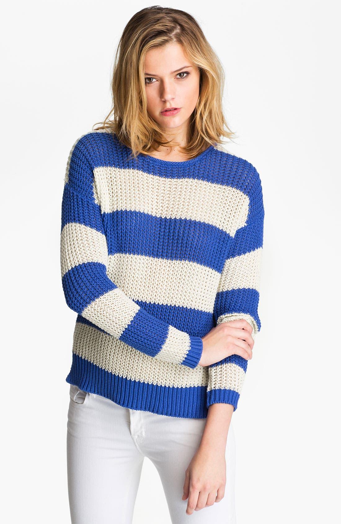 Alternate Image 1 Selected - Joie 'Jalene' Open Stitch Sweater