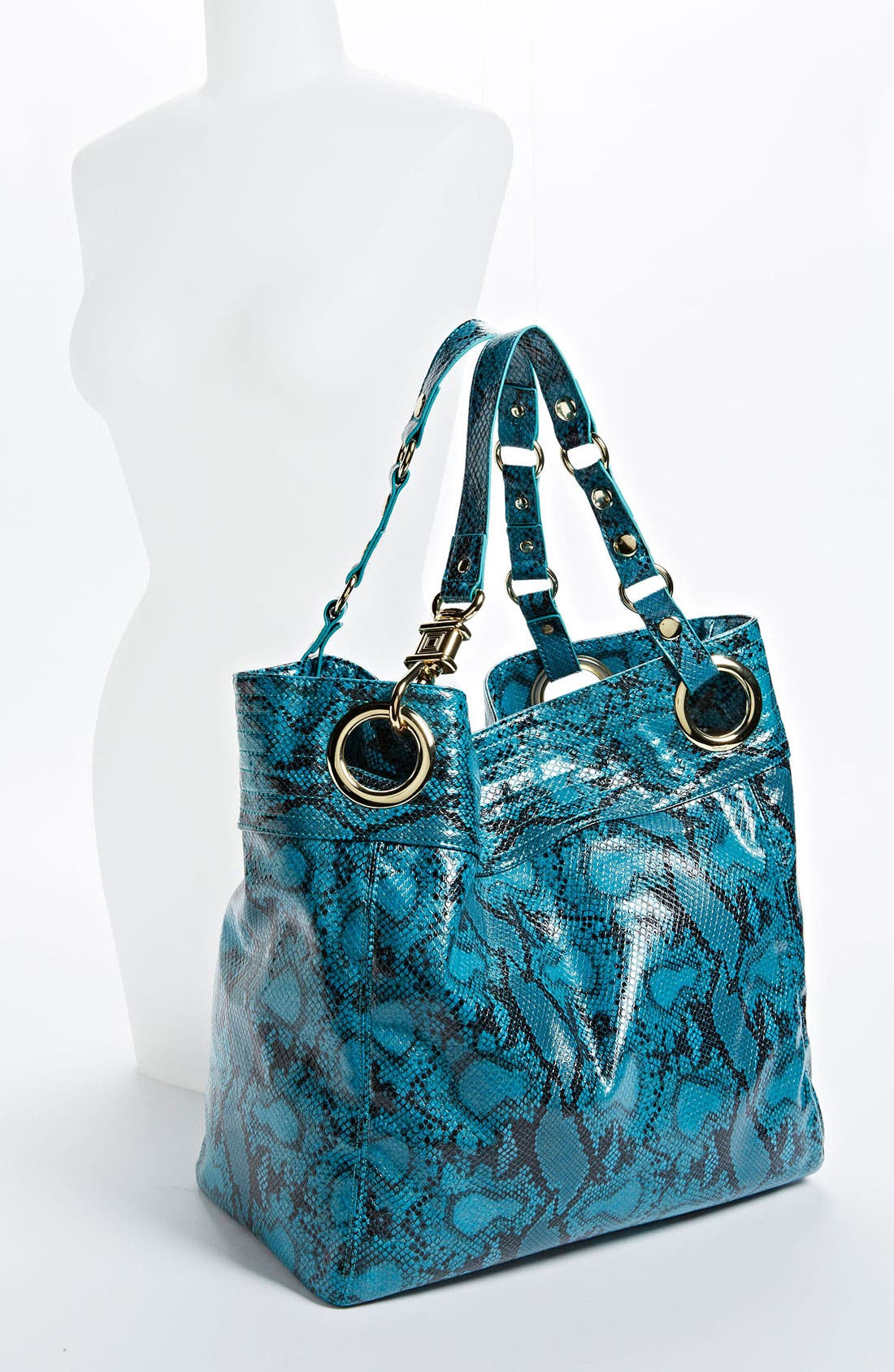 Alternate Image 2  - Steven by Steve Madden 'Candy Coated' Snake Embossed Tote