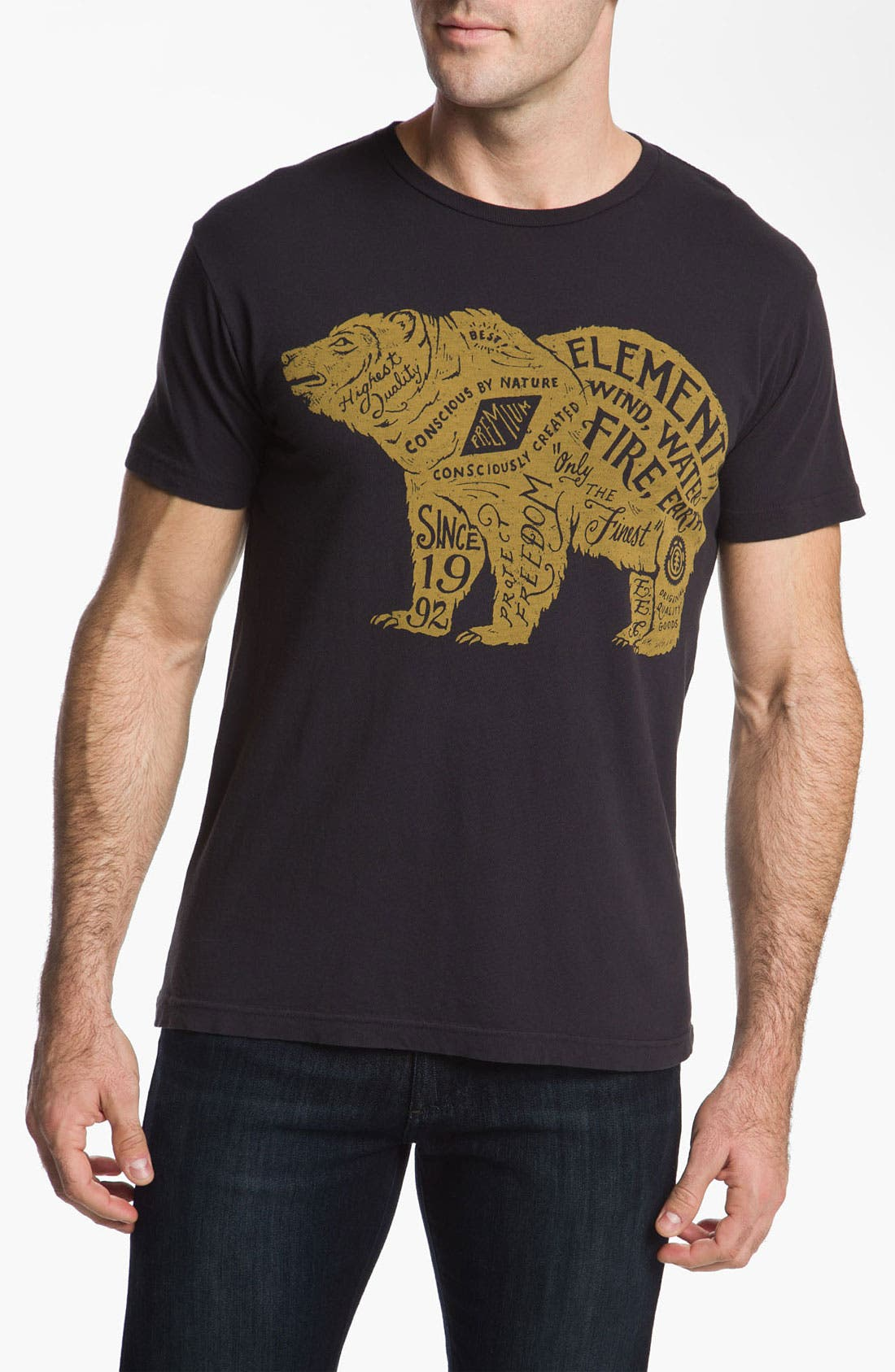 Alternate Image 1 Selected - Element 'Bear' Graphic T-Shirt