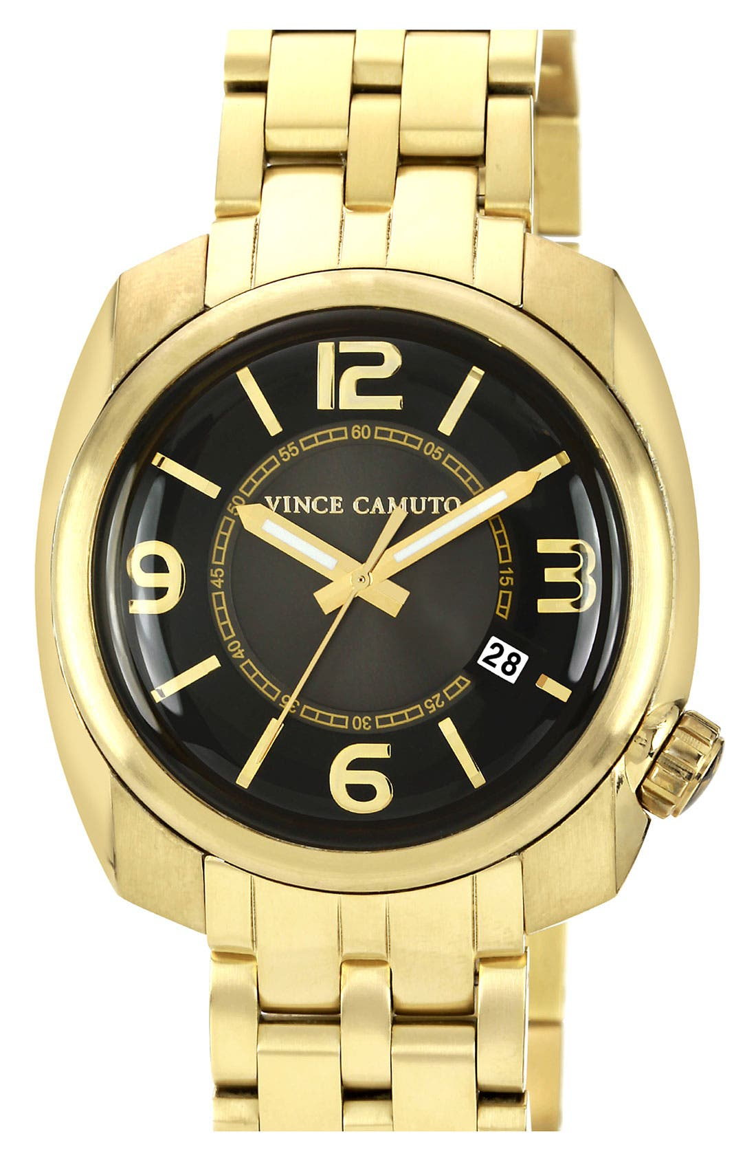Alternate Image 1 Selected - Vince Camuto Square Case Bracelet Watch, 42mm