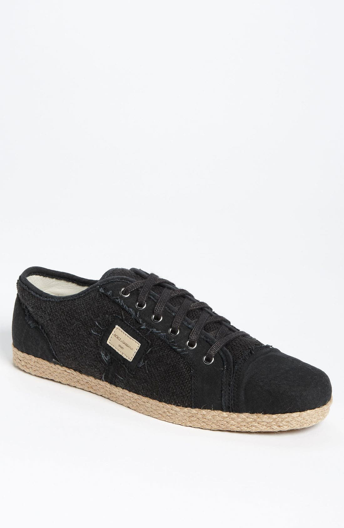 Alternate Image 1 Selected - Dolce&Gabbana Espadrille Sneaker