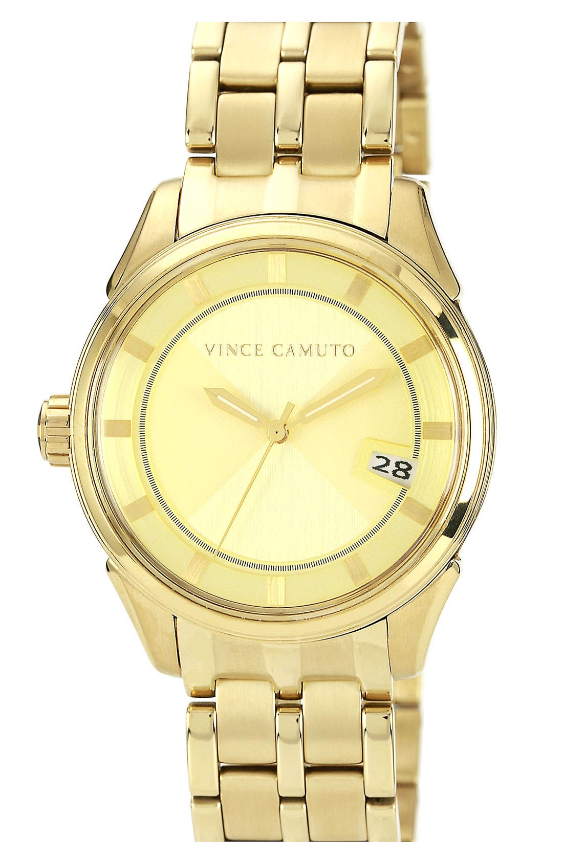 Alternate Image 1 Selected - Vince Camuto Aluminum Accent Bracelet Watch, 40mm