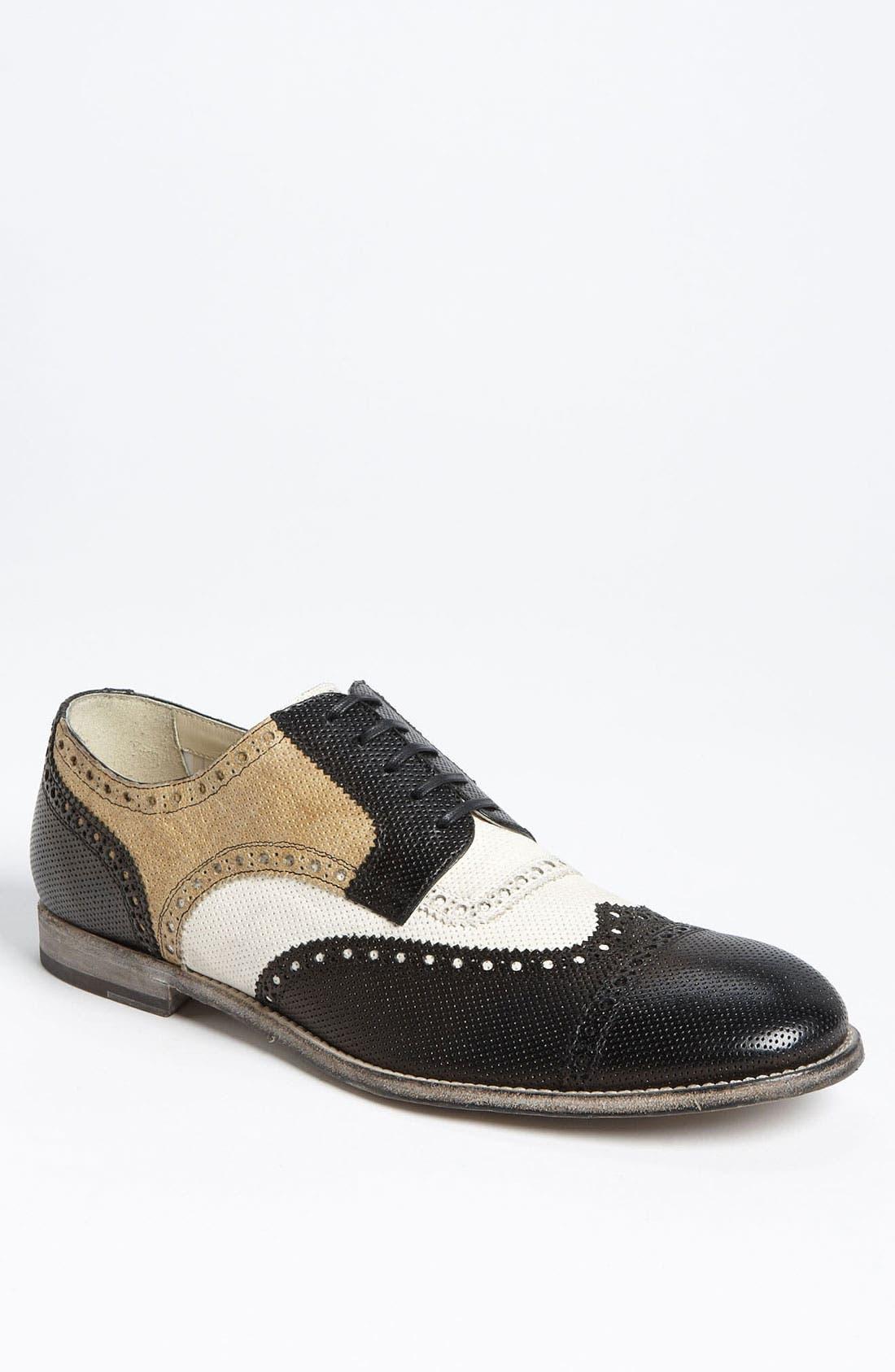 Alternate Image 1 Selected - Dolce&Gabbana Perforated Spectator Shoe