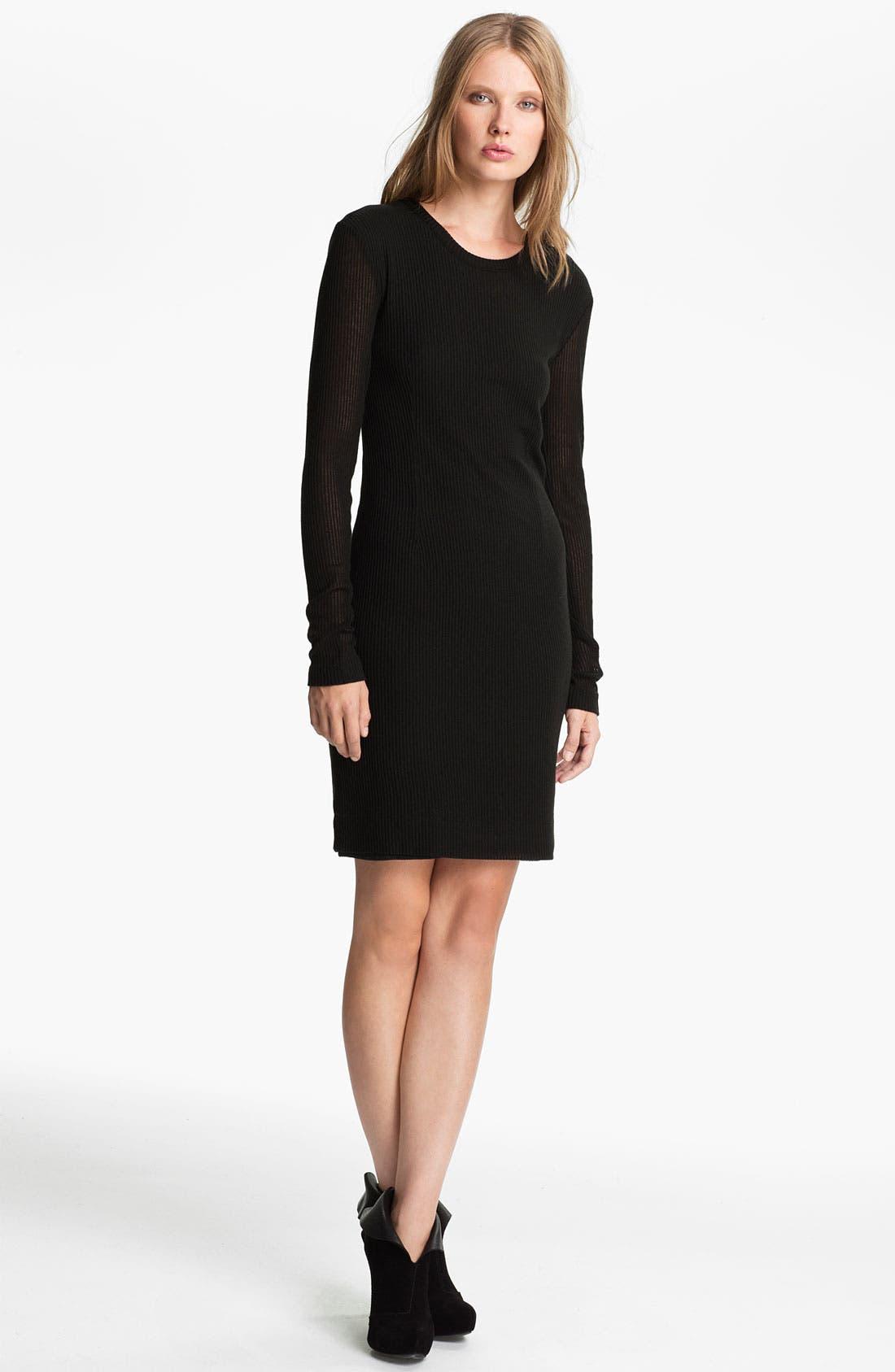 Main Image - rag & bone Ribbed Dress