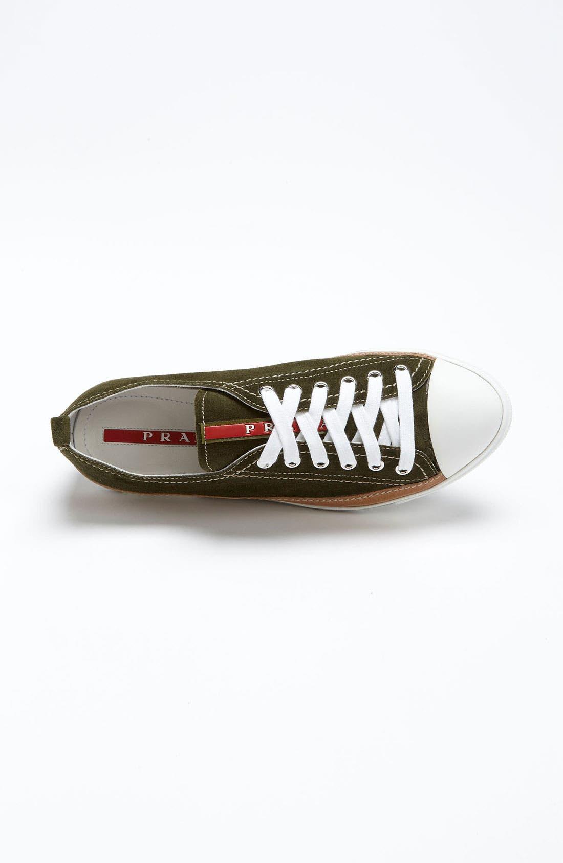 Alternate Image 3  - Prada Suede Sneaker