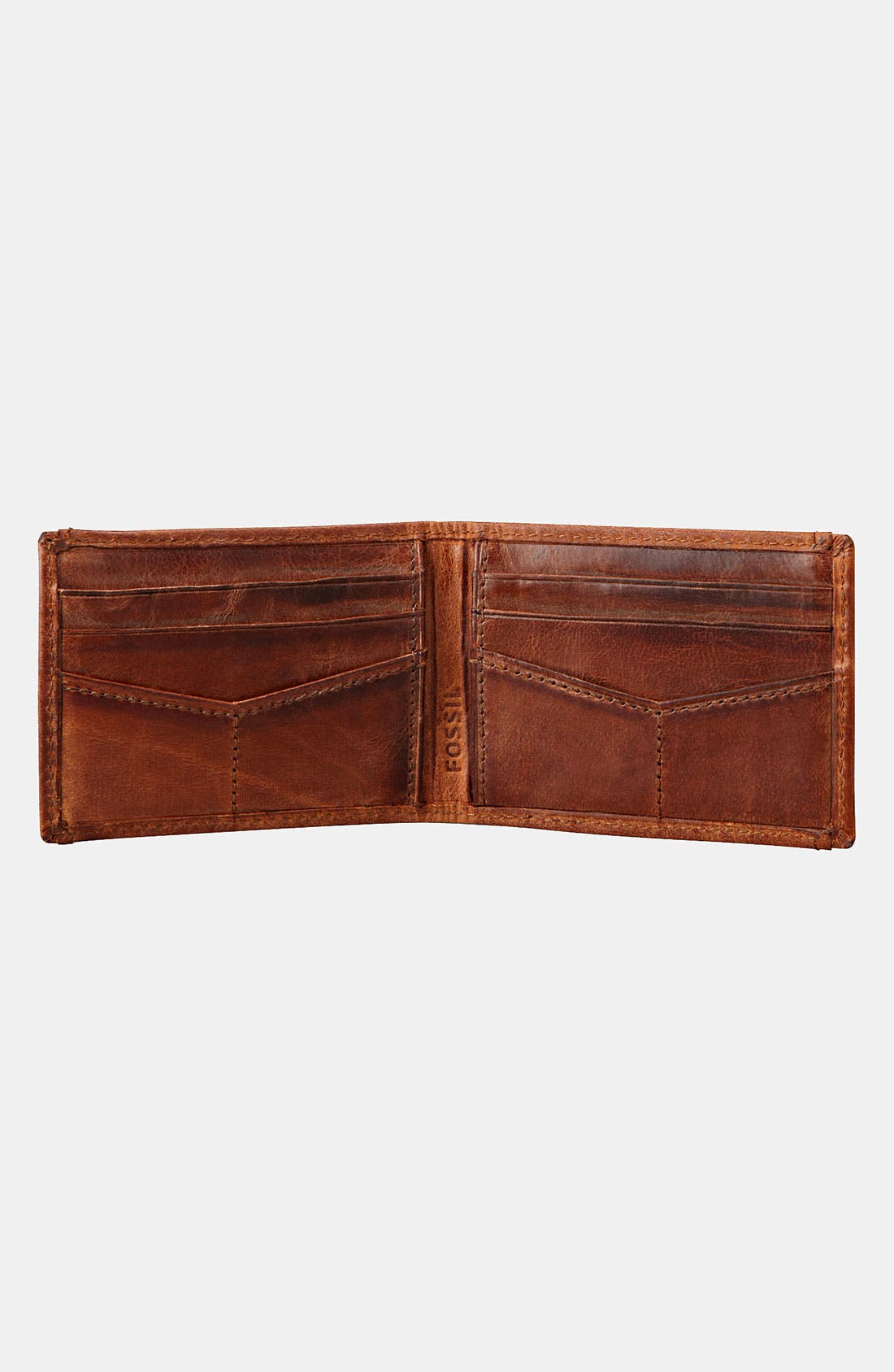 Alternate Image 3  - Fossil 'Carson' ID Bifold Wallet