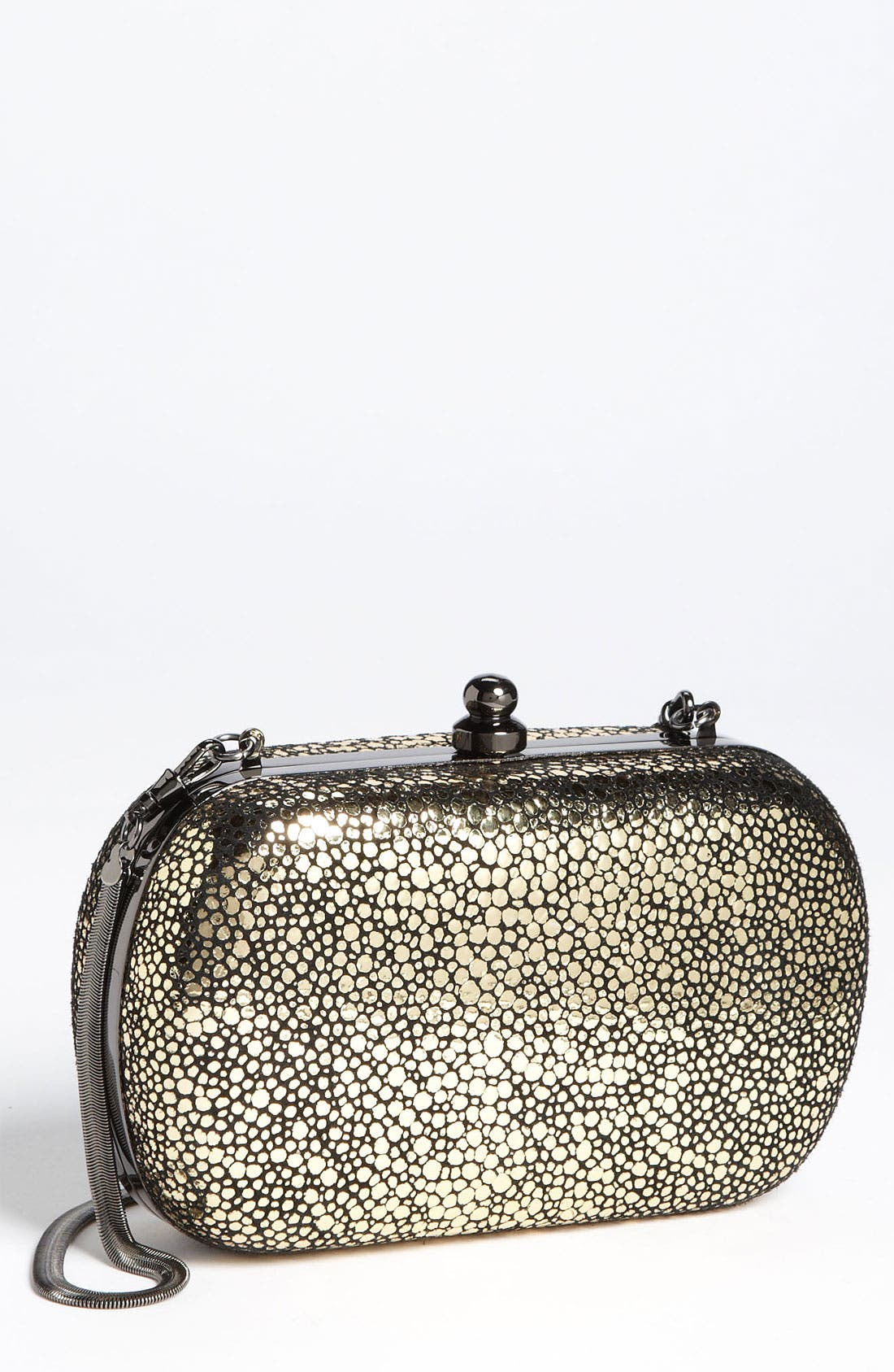 Alternate Image 1 Selected - Inge Christopher Metallic Stingray Embossed Clutch