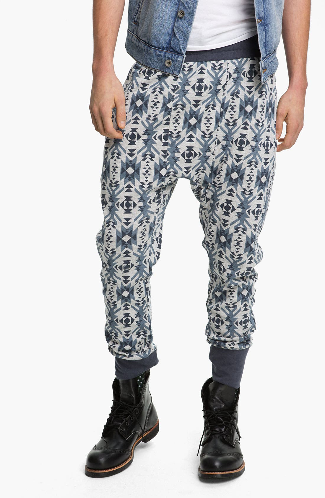 Alternate Image 1 Selected - Topman 'Trellick' Jersey Cotton Lounge Pants