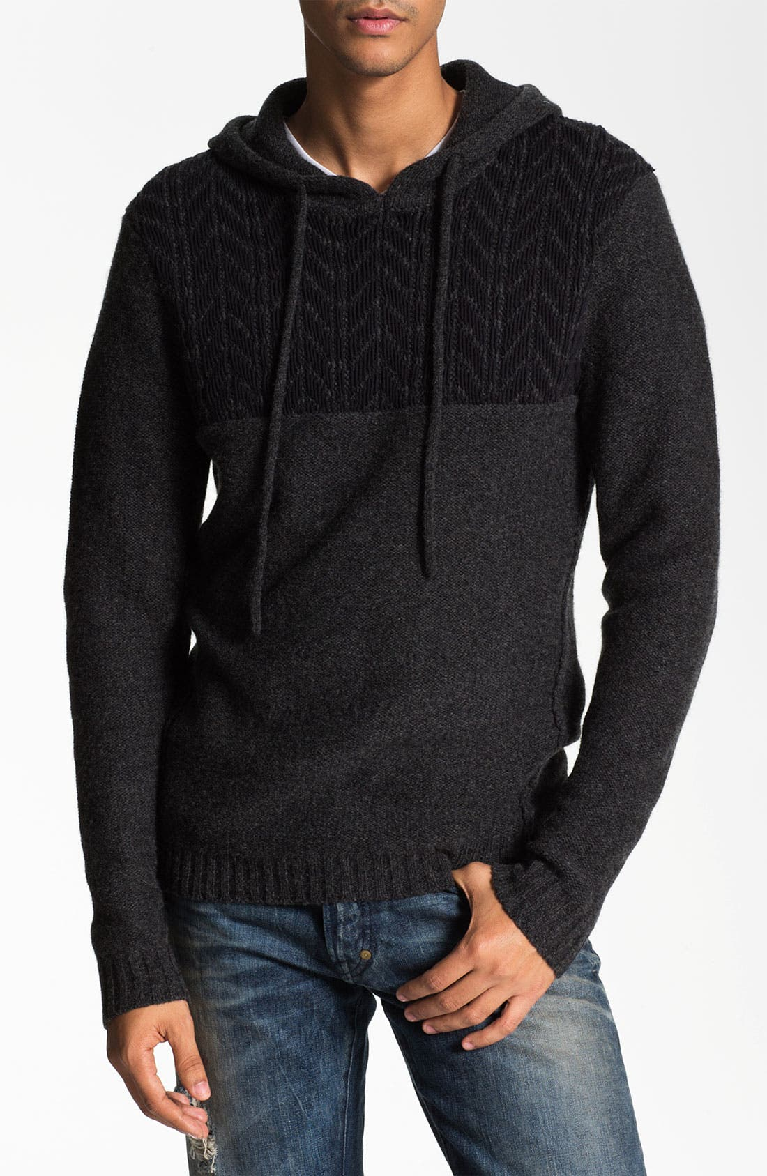 Alternate Image 1 Selected - Edun 'GG' Hooded Sweater