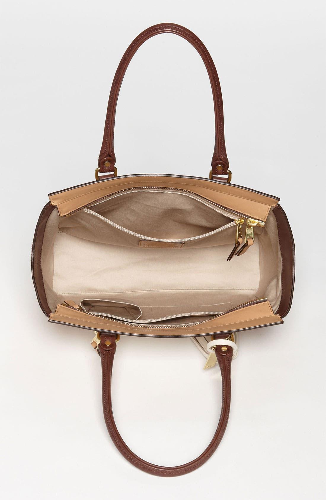 Alternate Image 3  - COACH 'Legacy Colorblock Candace - Medium' Leather Carryall
