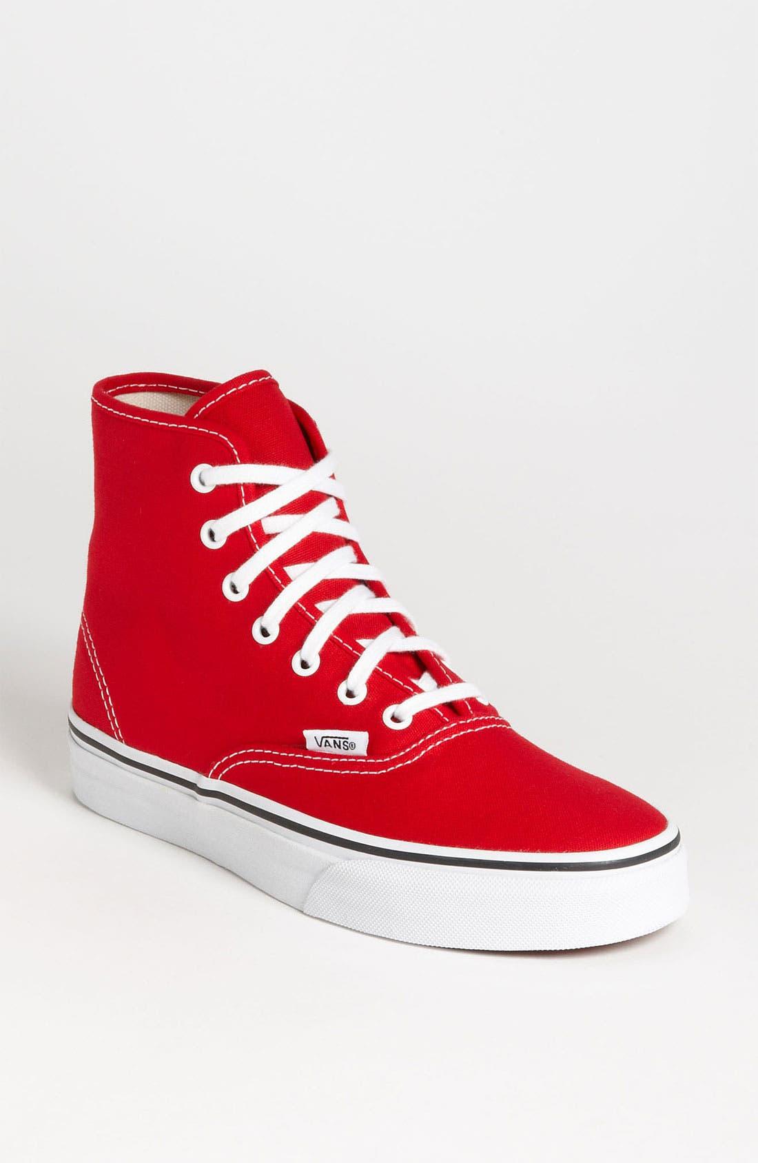 Main Image - Vans 'Authentic - Hi' Sneaker (Women)
