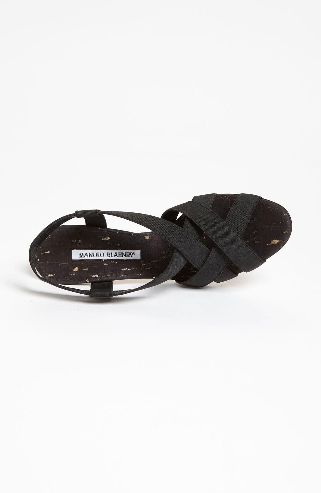Alternate Image 4  - Manolo Blahnik 'Lasti' Sandal