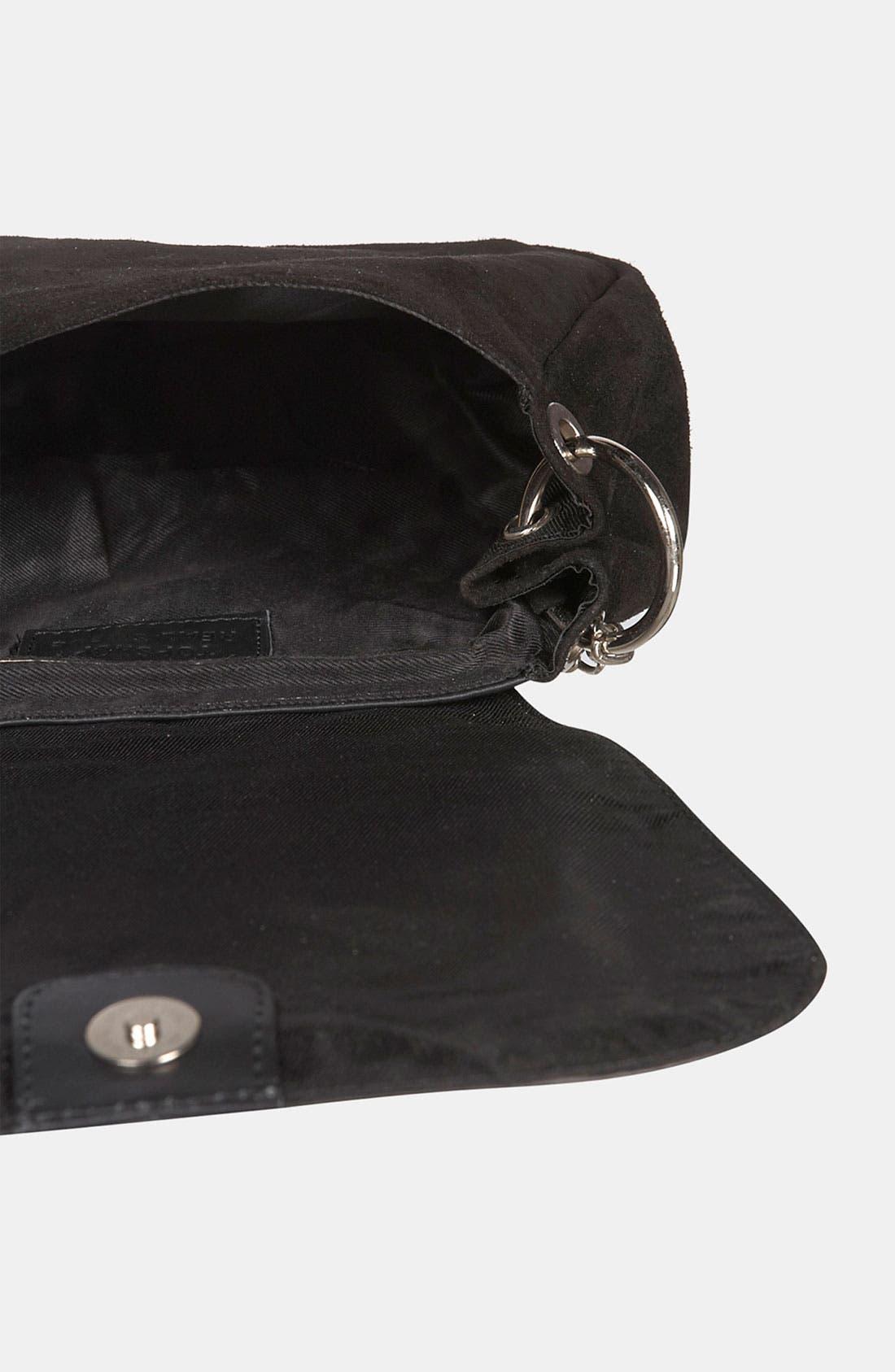 Alternate Image 3  - Topshop Quilted Crossbody Bag