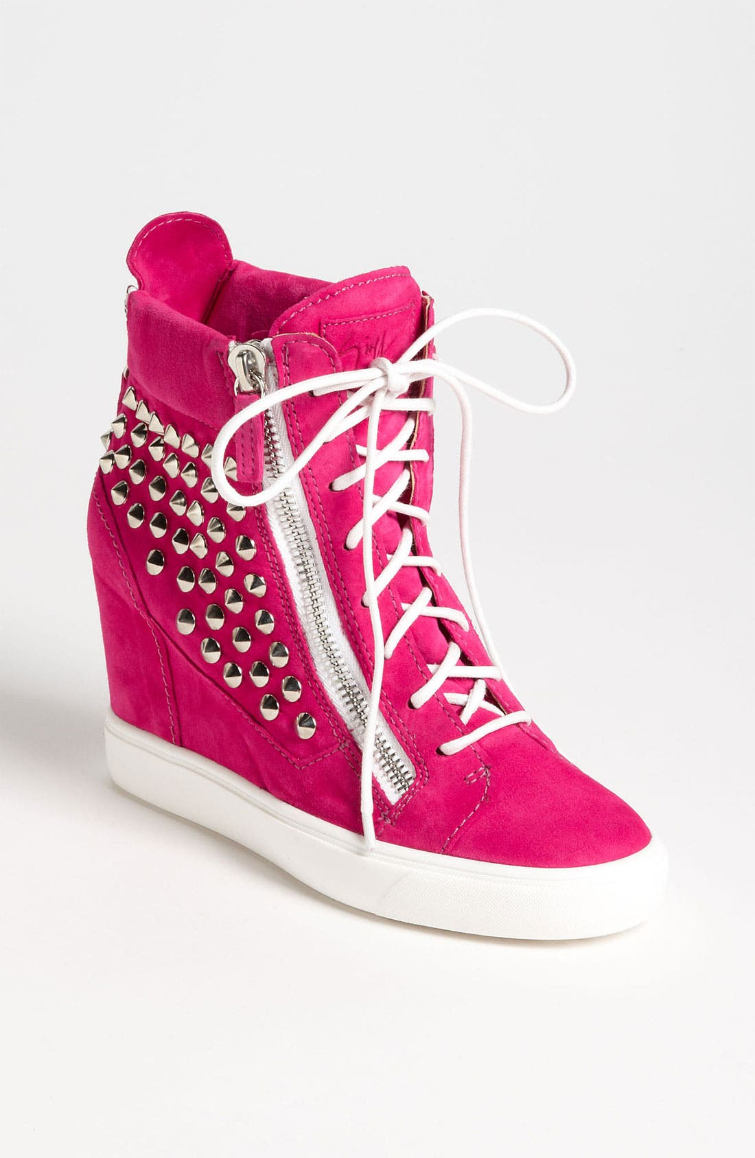 Alternate Image 1 Selected - Giuseppe Zanotti Wedge Sneaker