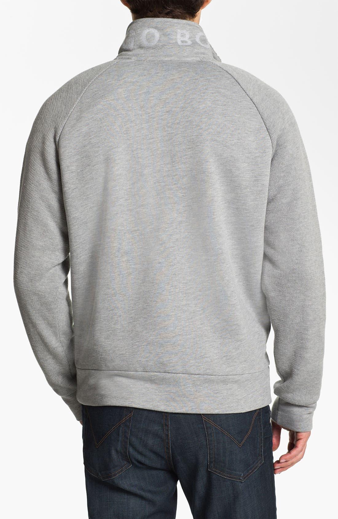 Alternate Image 2  - BOSS Green 'Skuddel' Zip Fleece