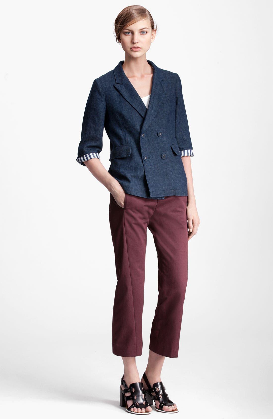 Alternate Image 4  - Marni Edition Double Breasted Denim Jacket