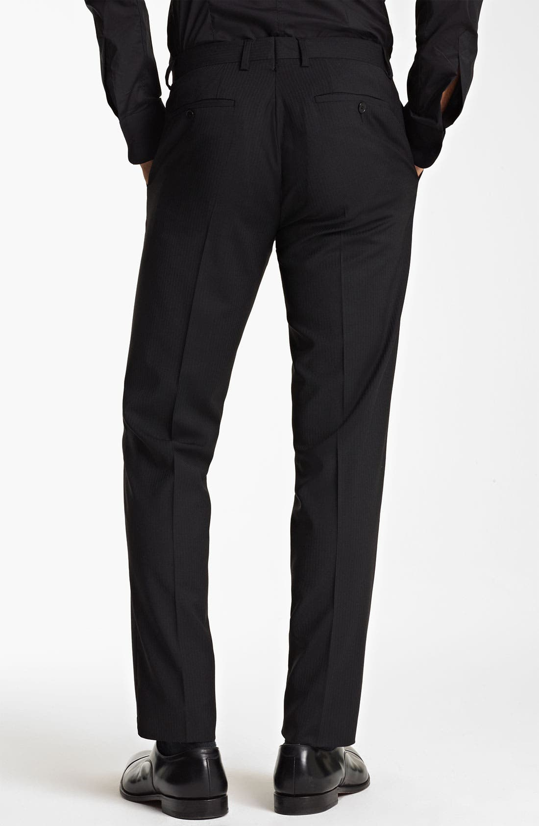 Alternate Image 5  - Dolce&Gabbana Tonal Stripe Suit