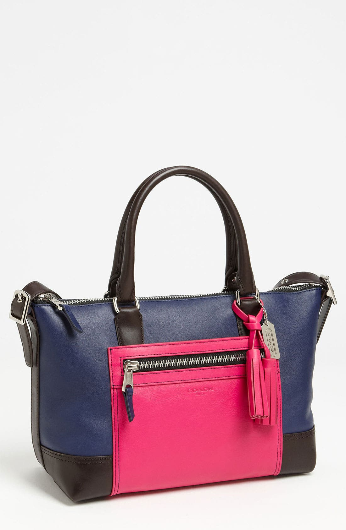 Main Image - COACH 'Legacy Colorblock Molly' Leather Satchel