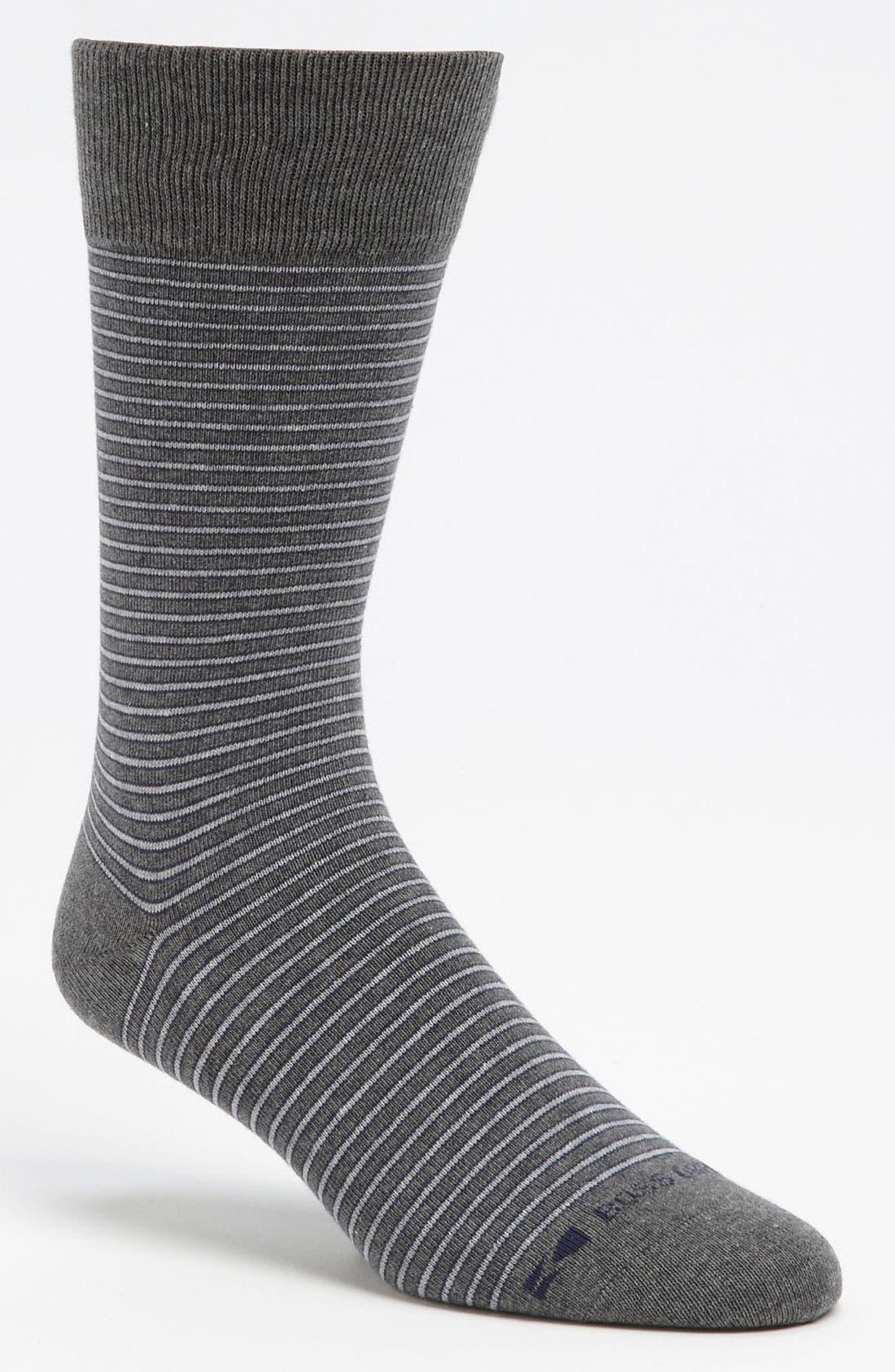 Alternate Image 1 Selected - BOSS Orange 'RS Design' Stripe Socks