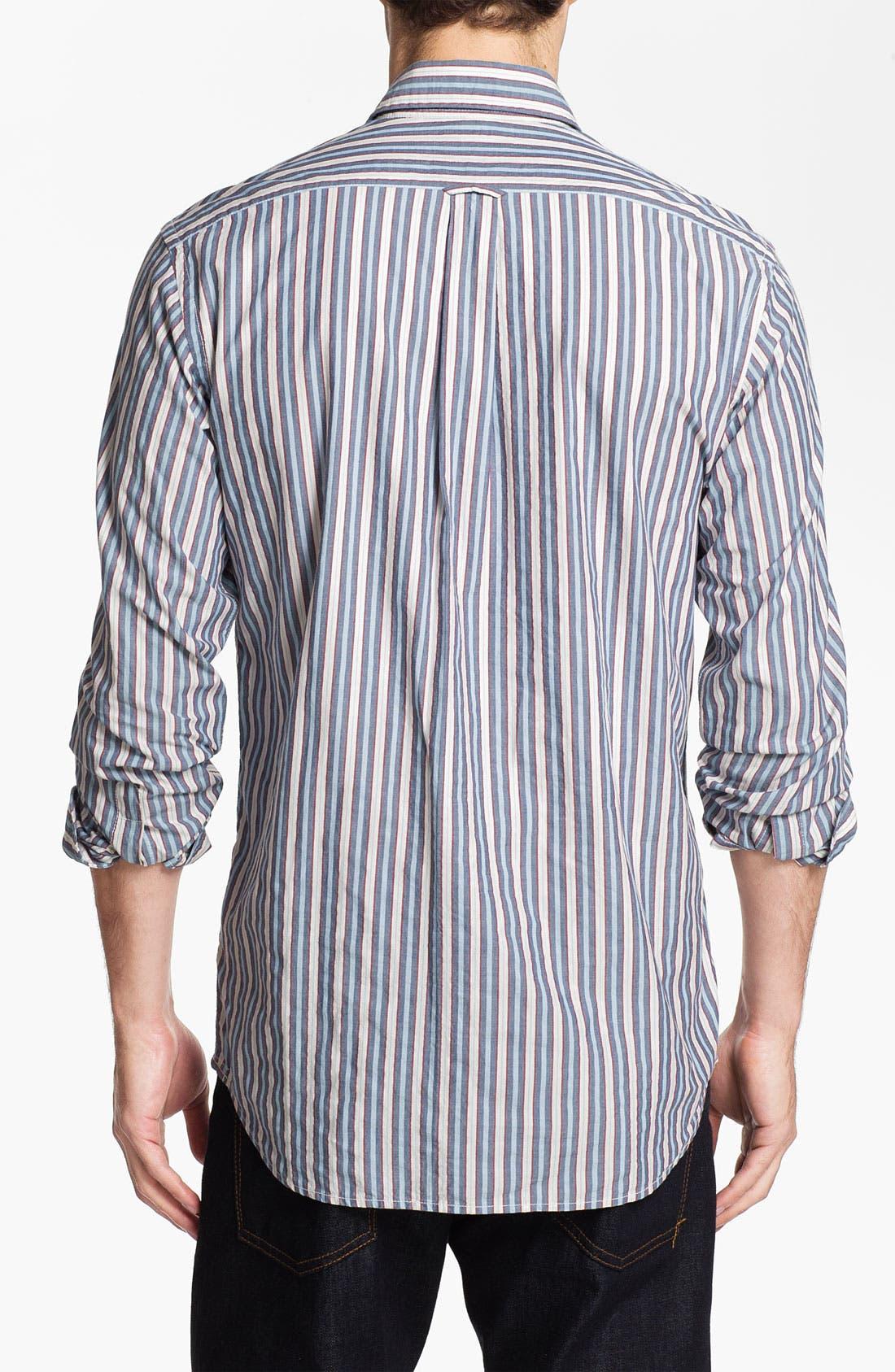Alternate Image 2  - Façonnable Tailored Denim Regular Fit Sport Shirt